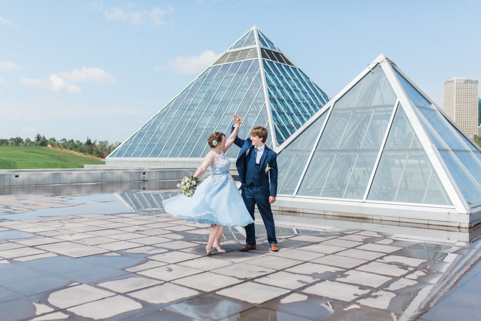 Muttart Conservatory Wedding - Edmonton Wedding Photographer6