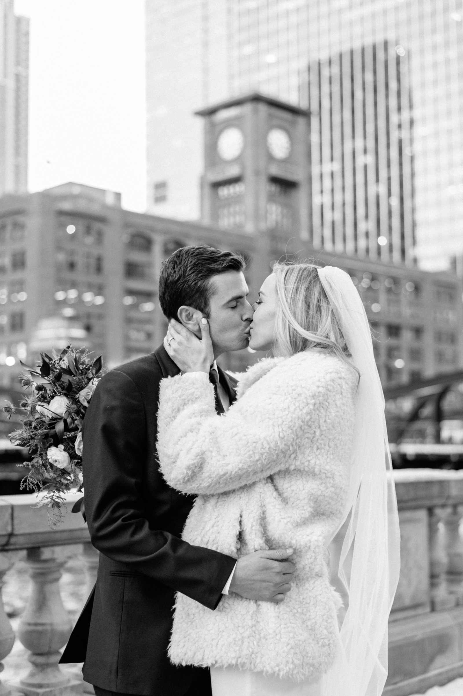 small intimate wedding downtown chicago