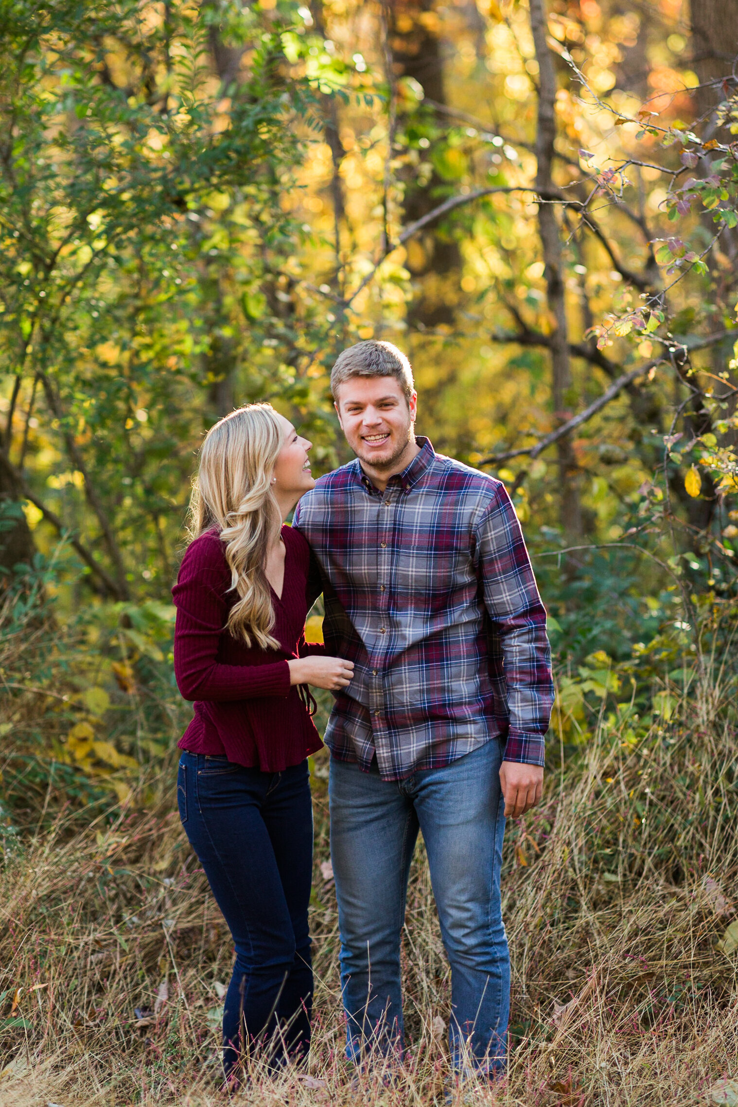 Fall Mountain Engagement Session in the Shenandoah Valley-13