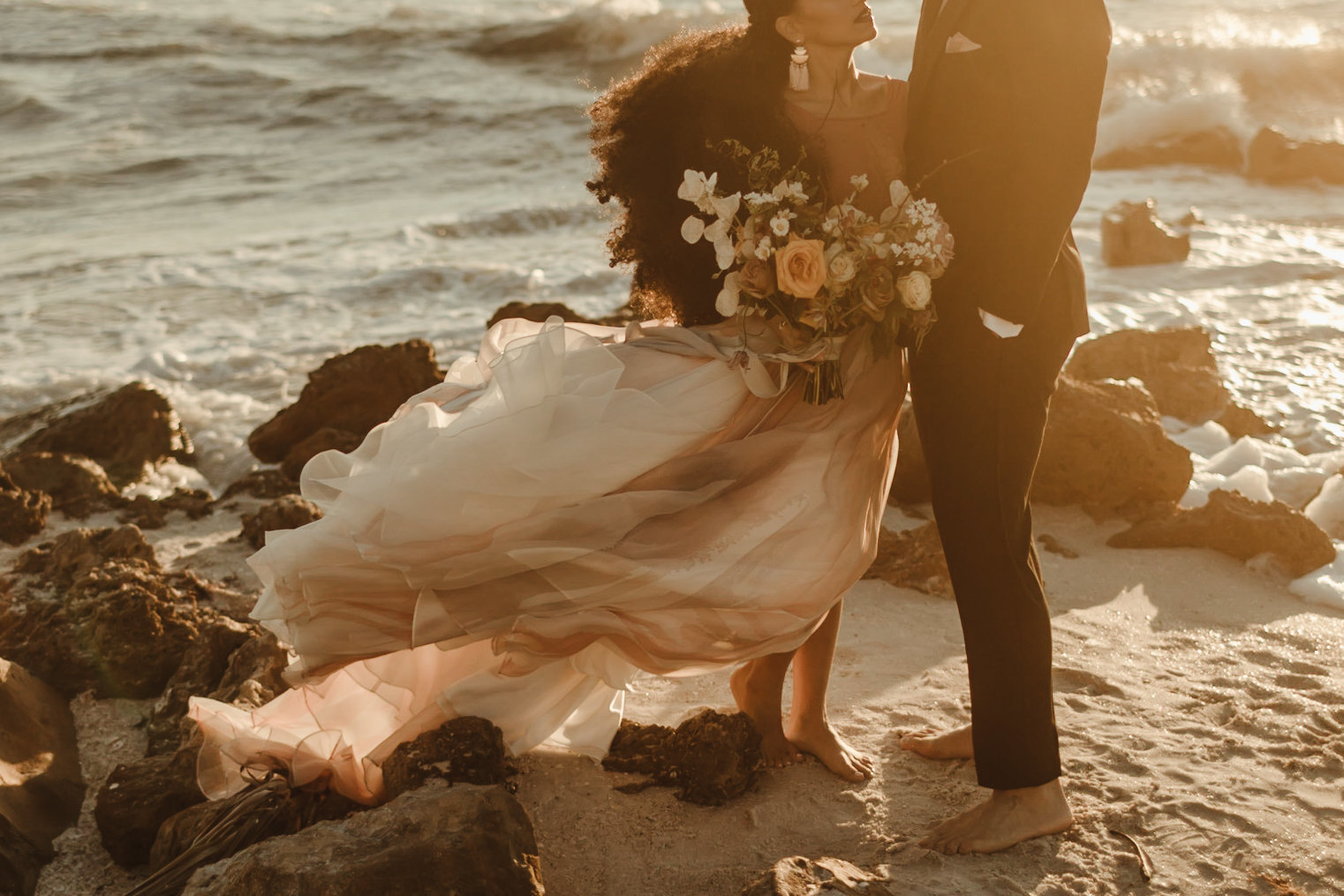 Celestial wedding inspiration_ beach elopement style-114