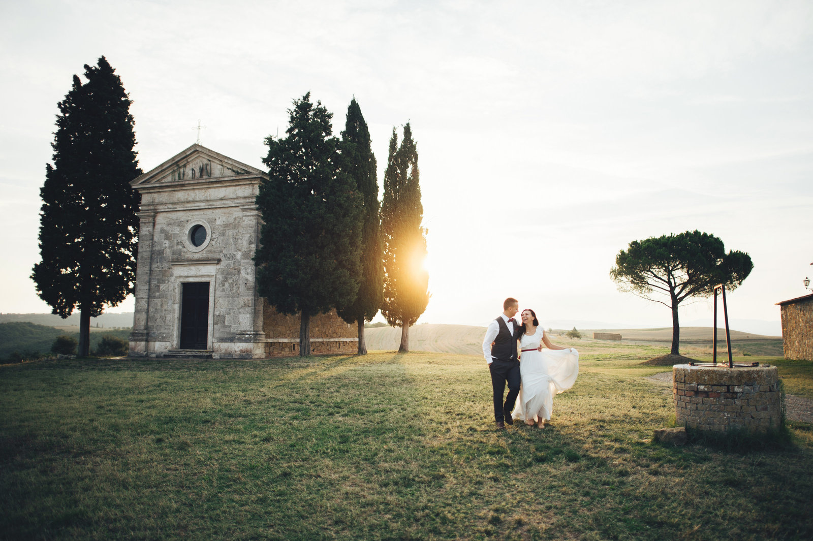 European Country Wedding