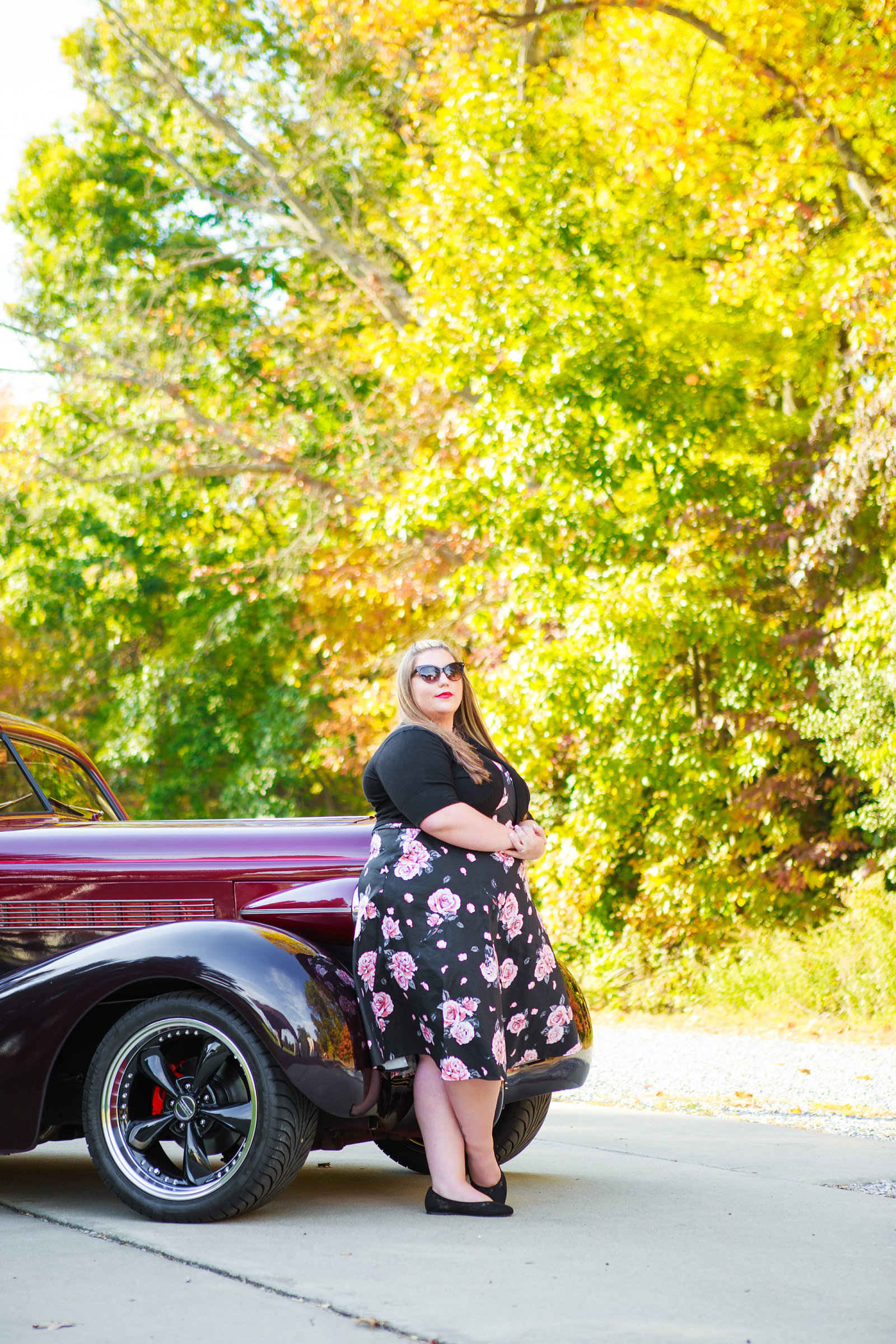 Retro_Pinup_Car_engagement_session_Nj019
