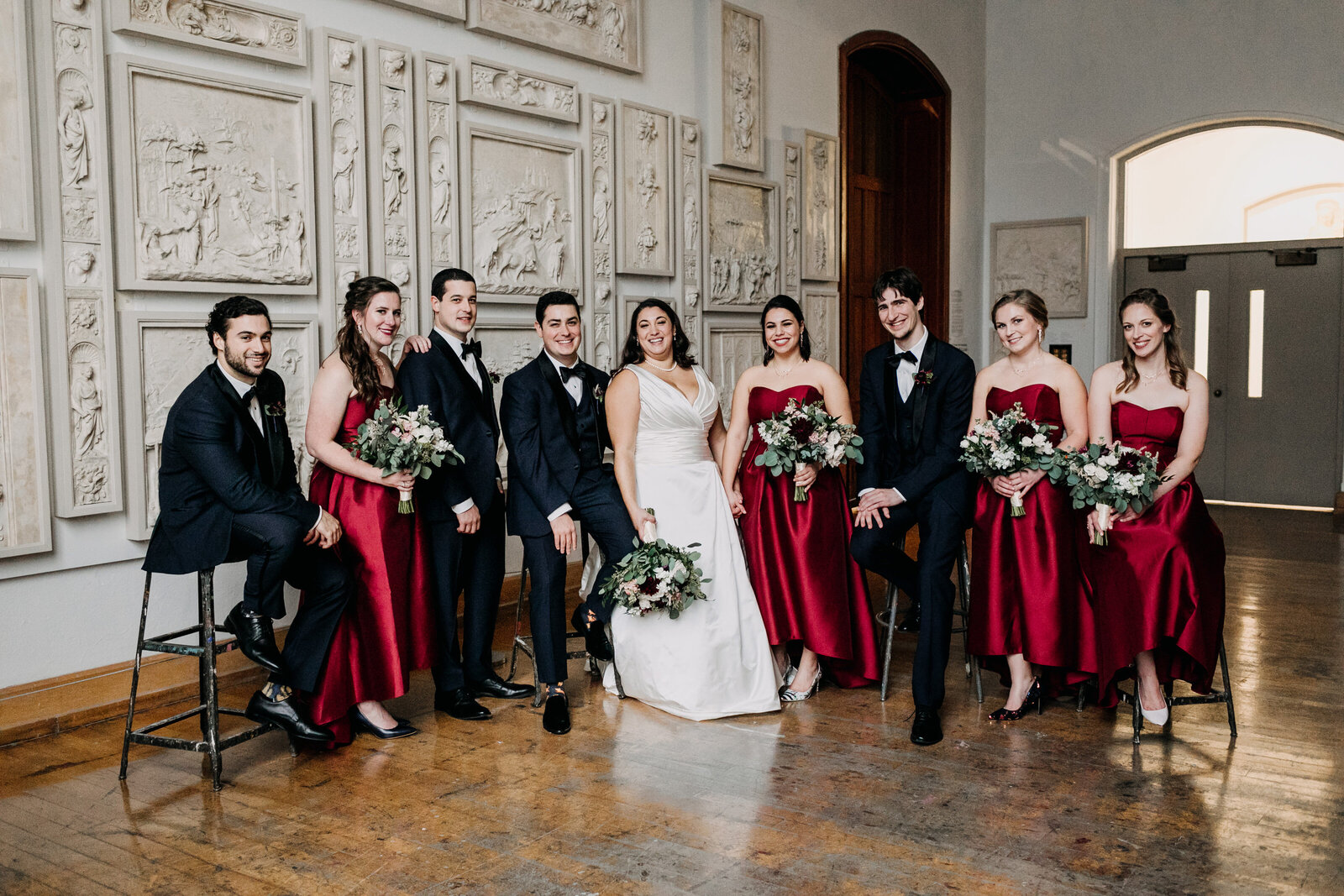 bridal party historic pafa museum