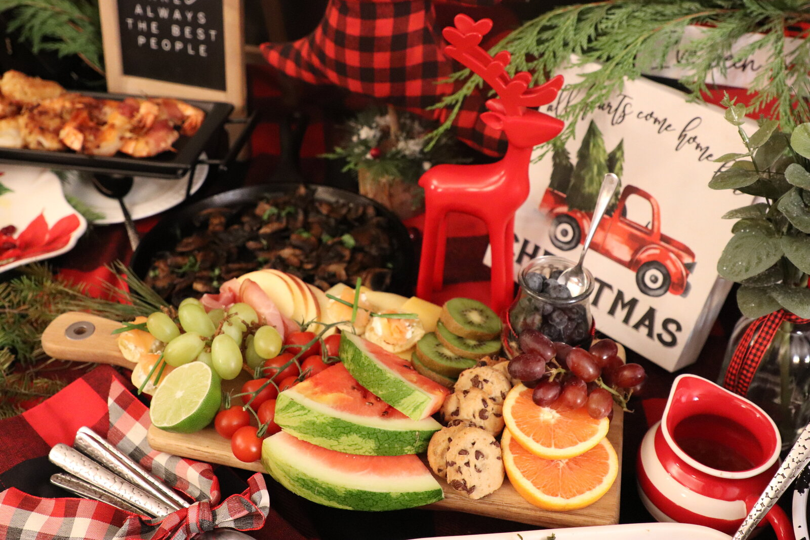 christmas party buffet style pearl ivy events new york  event planner