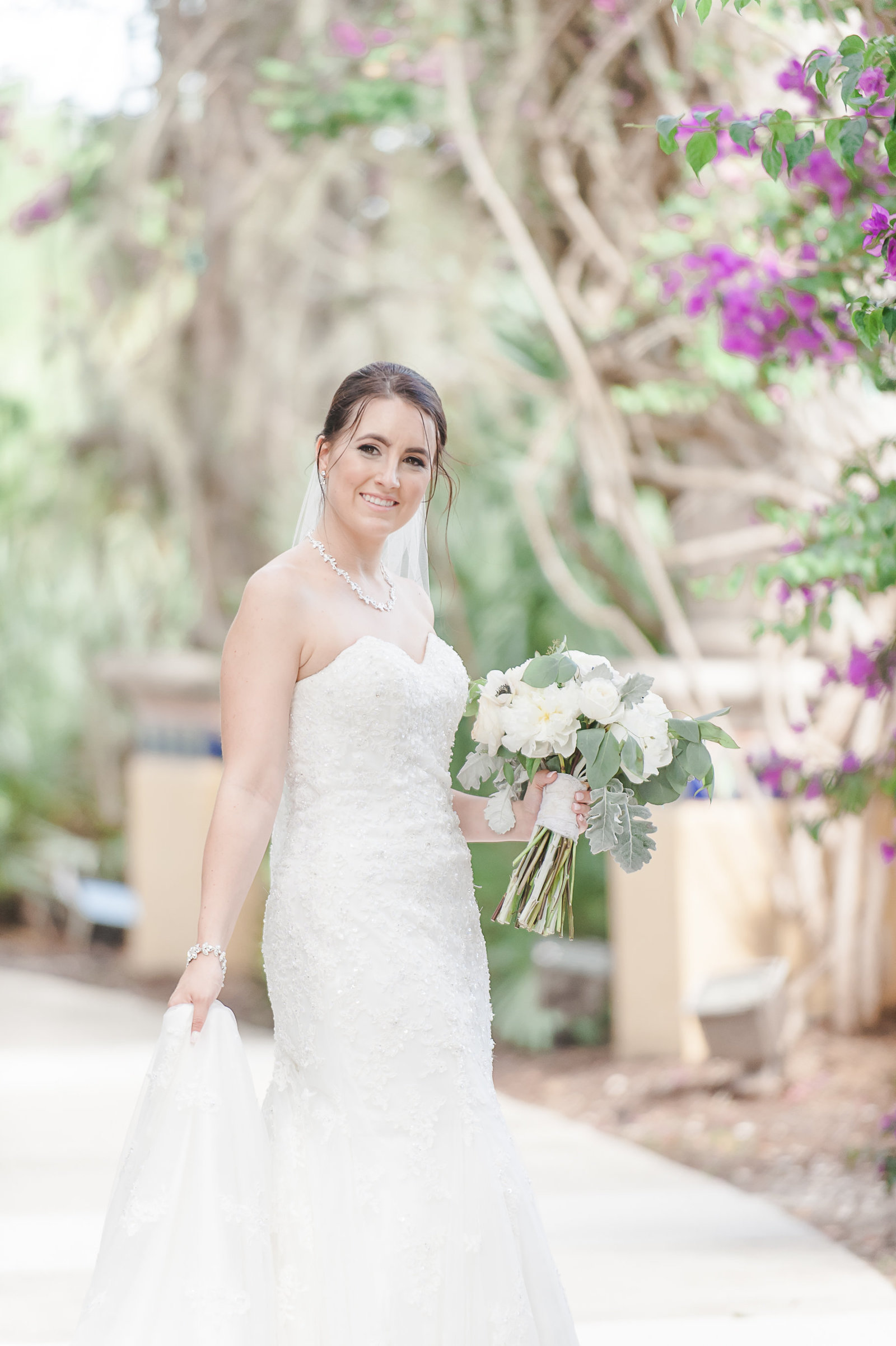 Bride - Country Club at Mirasol Wedding - Palm Beach Wedding Photography by Palm Beach Photography, Inc.