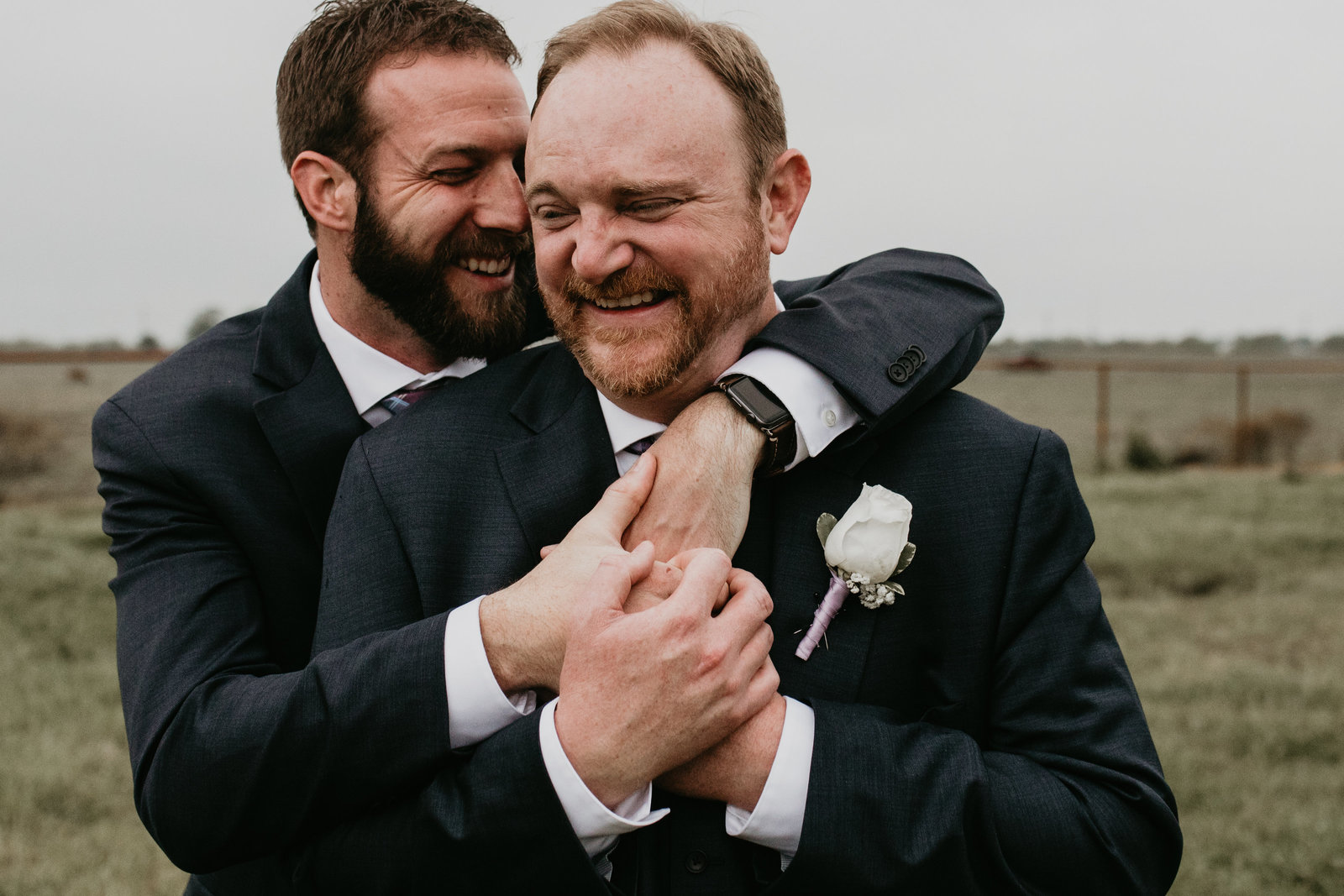 same sex rustic wedding dallas texas  moth and moonlite photography