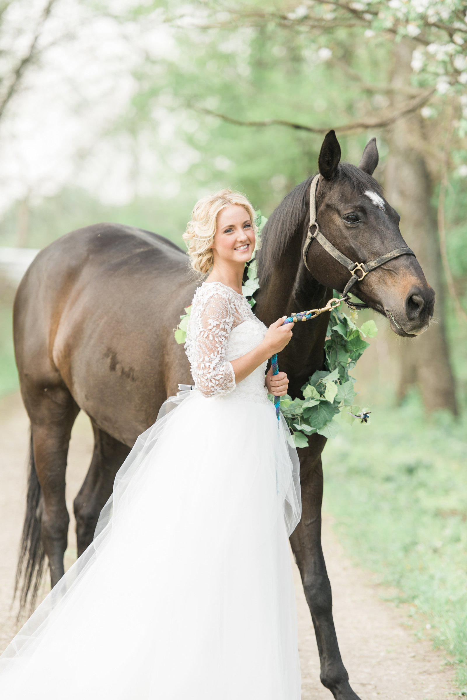 Columbus Ohio equestrian Wedding