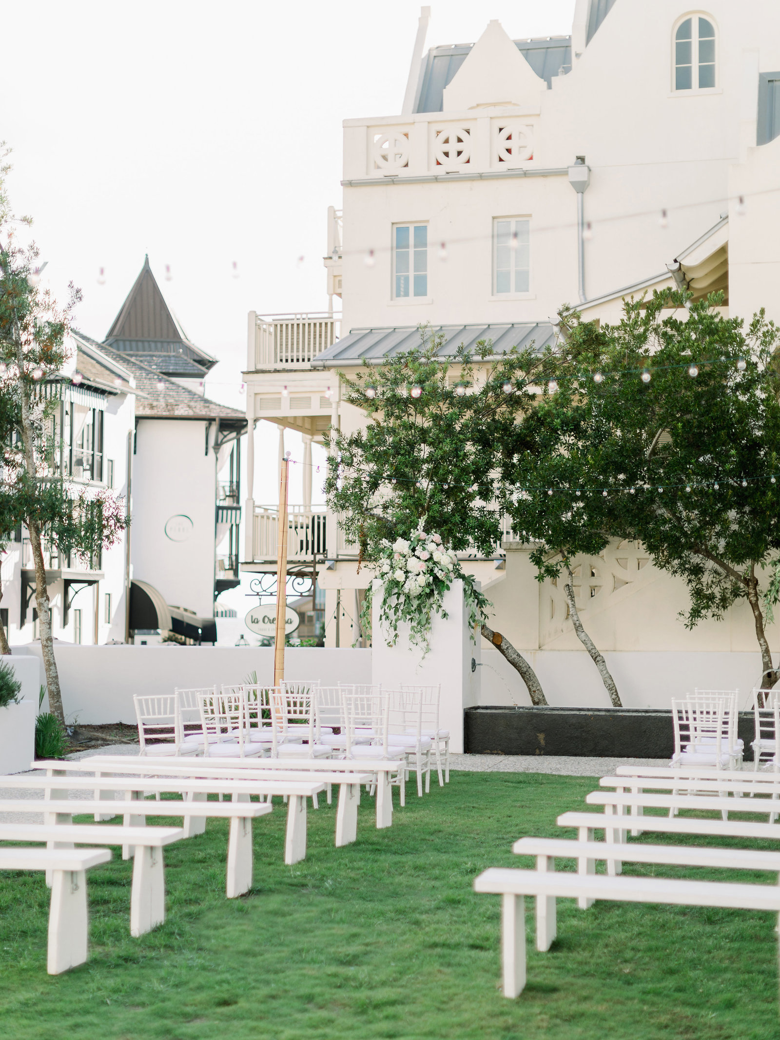Rosemary Beach Green Wedding