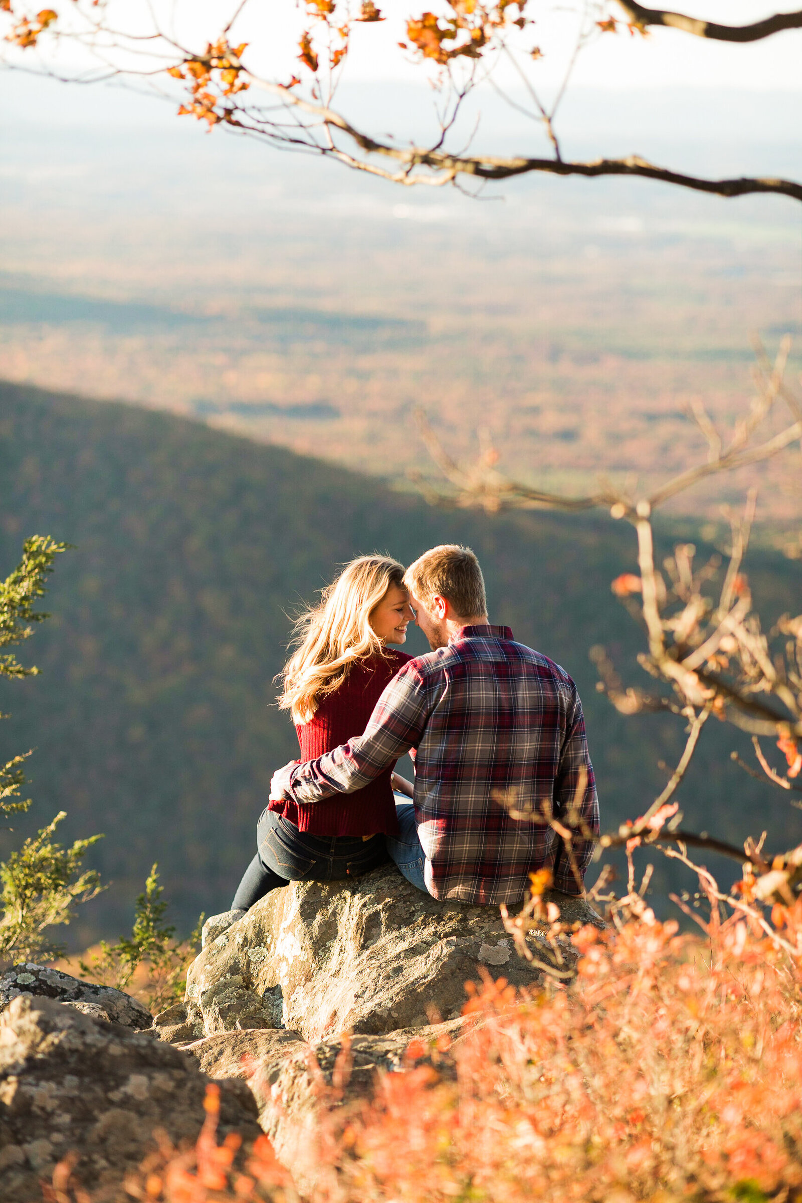 Fall Mountain Engagement Session in the Shenandoah Valley-20