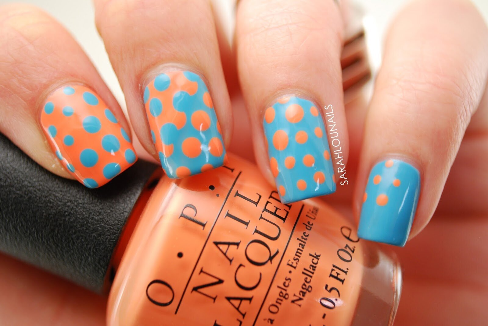 Interlocking Dot Nails 2