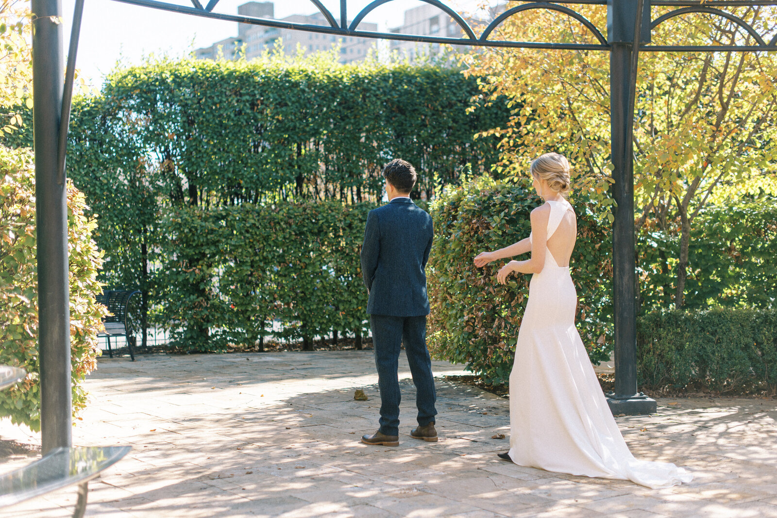 Hannah & Andrew _ First Looks & Ceremony _ by Steph Masat -19