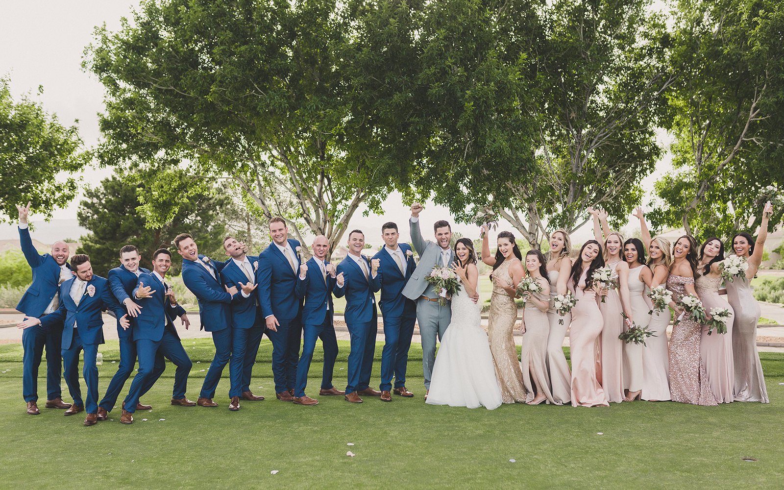 Henderson Large Bridal Party Wedding
