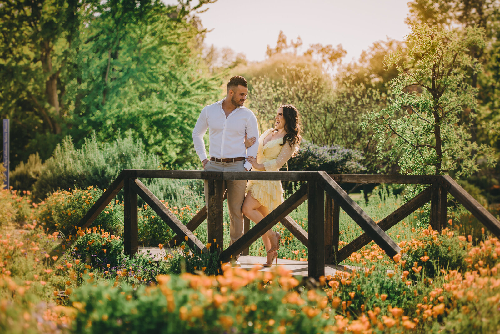 la arboretum engagement photography 125