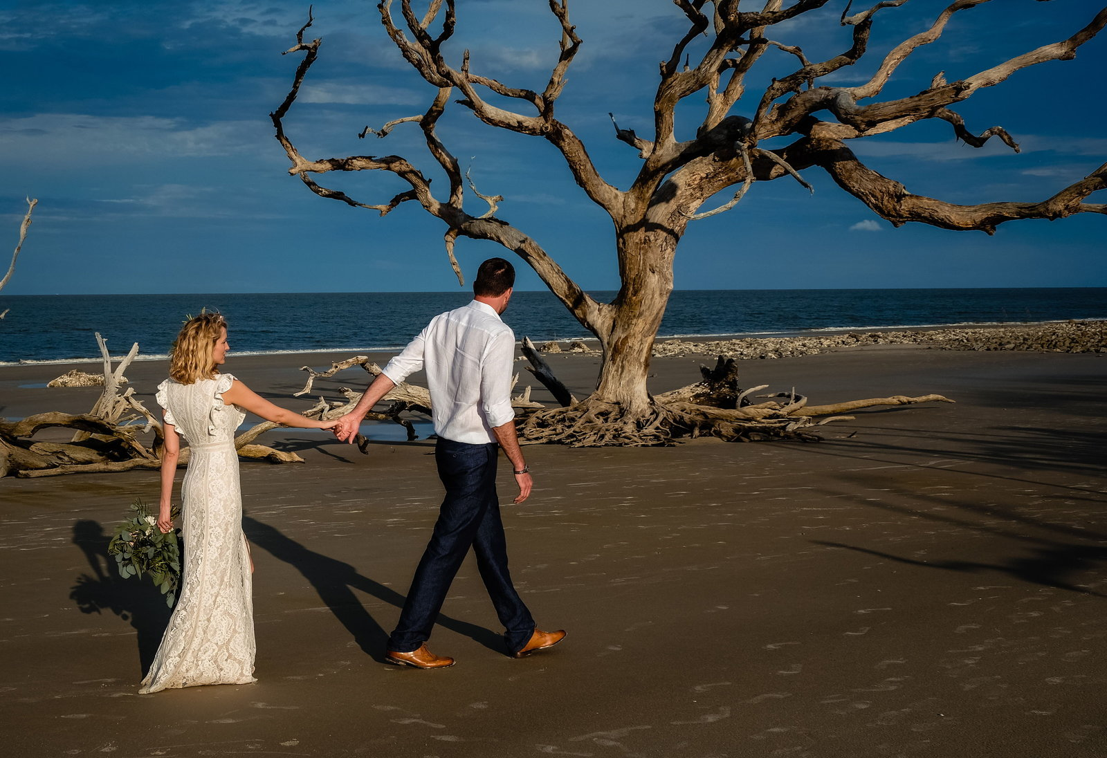 Lance + Julie, Bobbi Brinkman Photography, Driftwood Beach Wedding