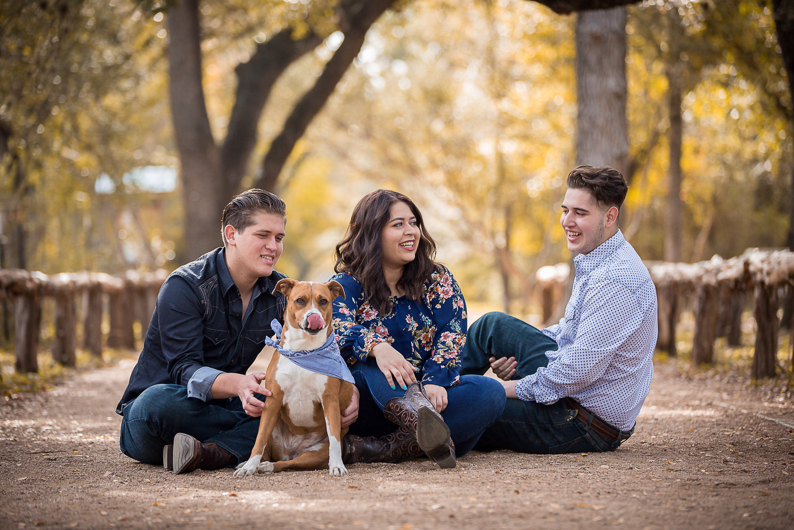 San Antonio family portrait by Kim Arredondo Photography