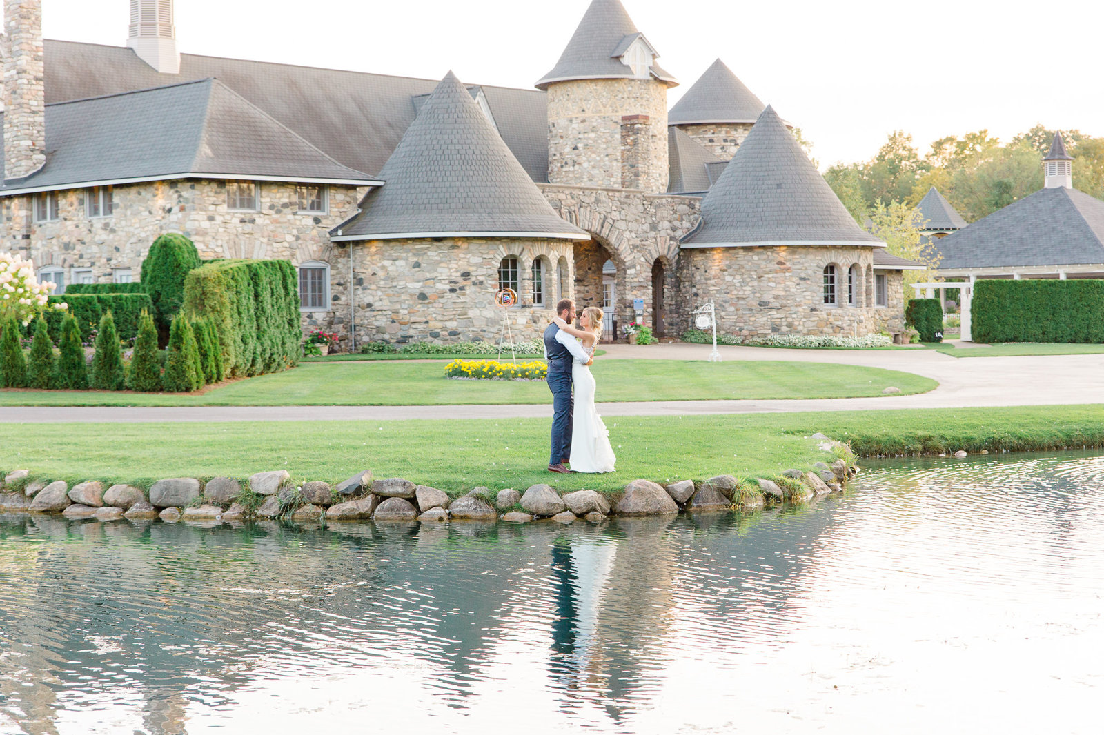 Castle Farm fairy tale wedding