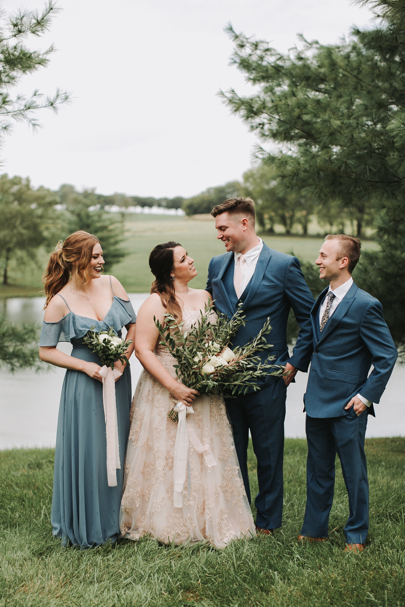 Bridal+Party+Fresh+Air+Farm