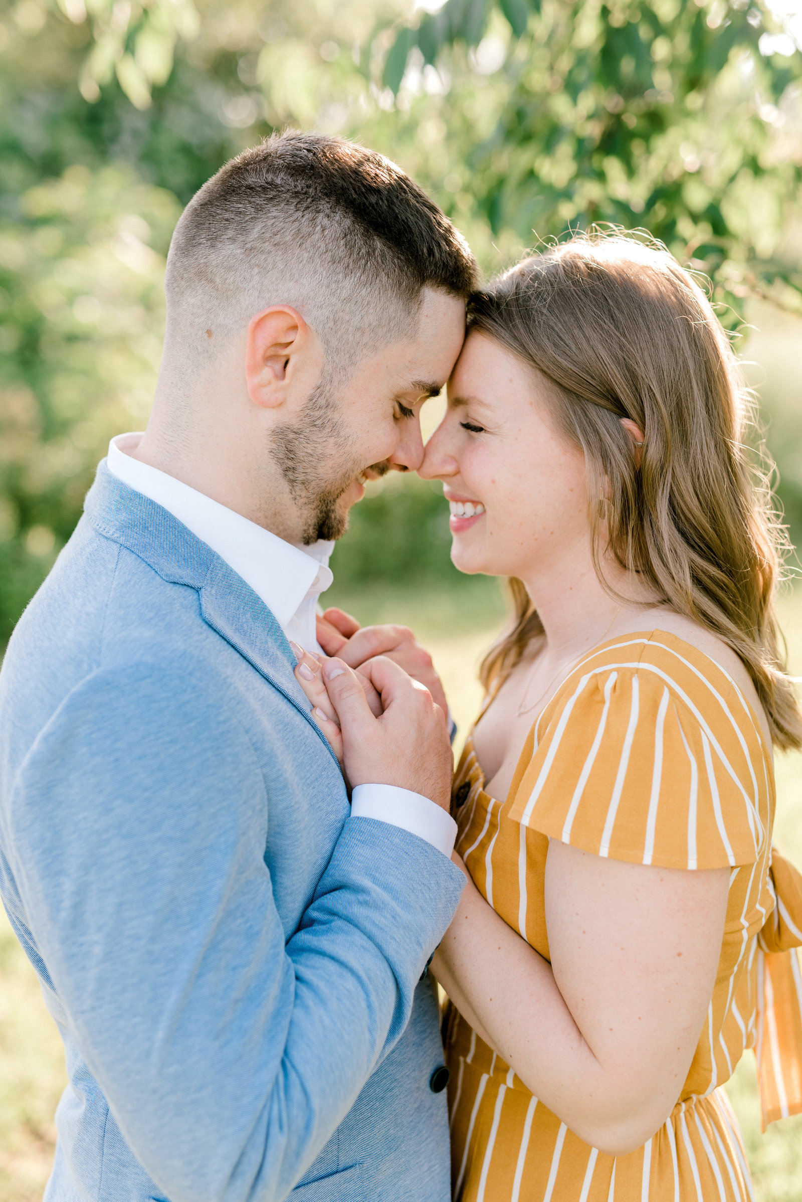 Erie Engagement Session in Summer