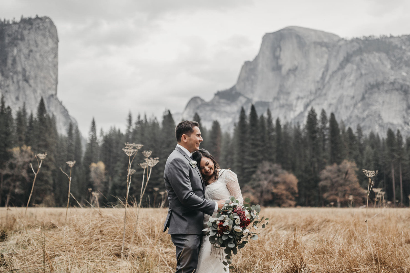 athena-and-camron-yosemite-elopement-wedding-photographer-elegent-valley-wedding48-laughing-cute-couple-goals-half-dome