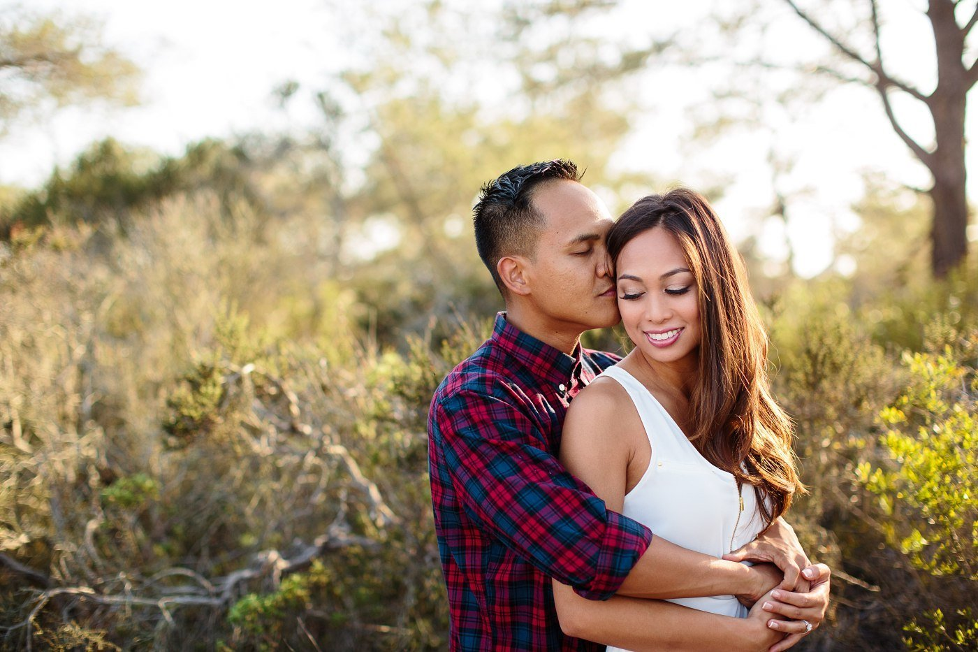 Torrey pines trails engagement