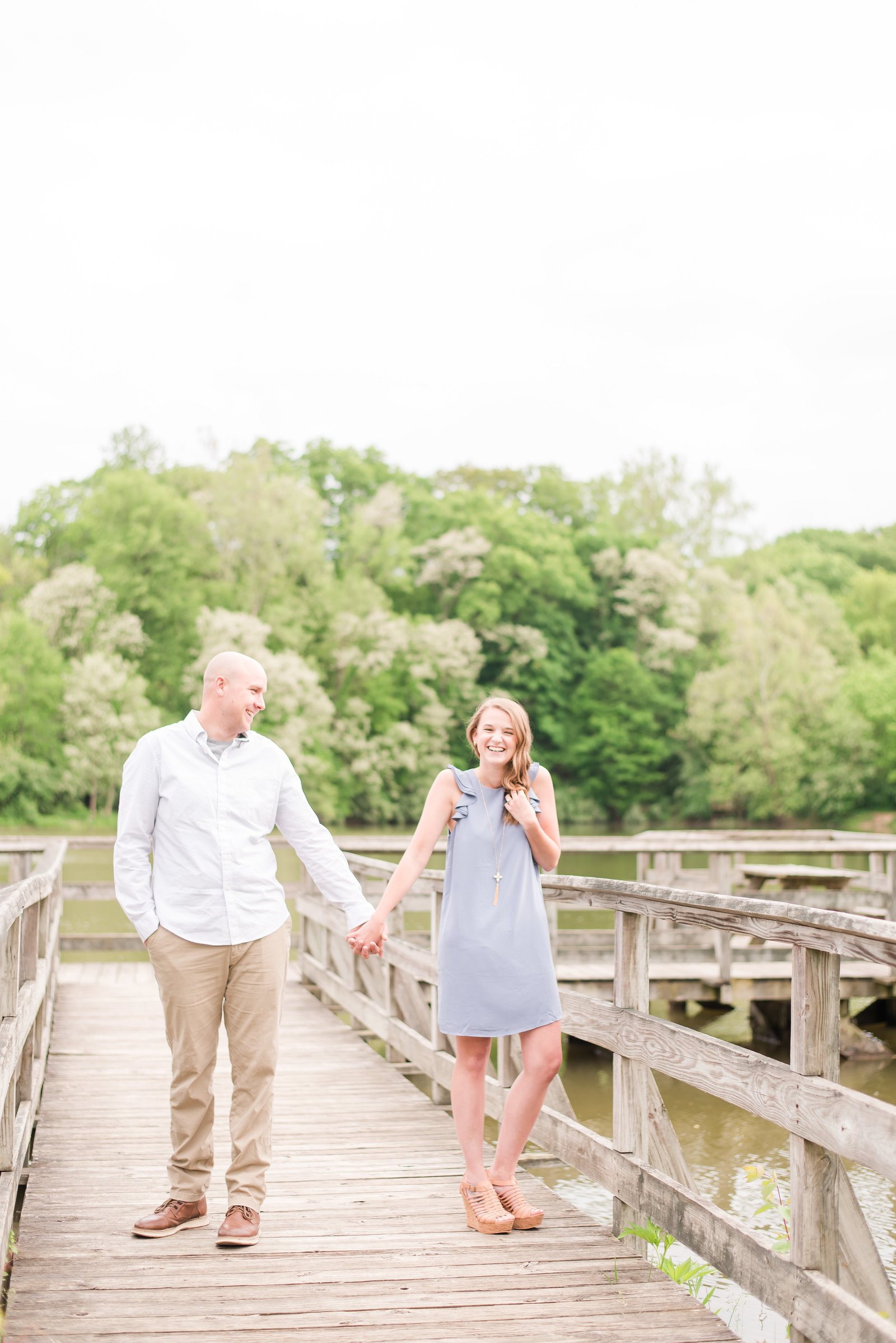 Fort Harrison State Park Engagement Session