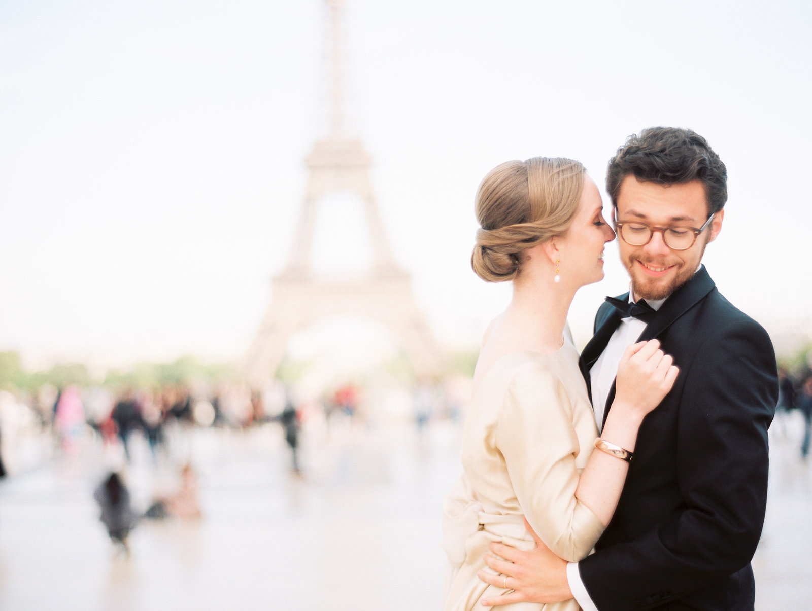 A styled wedding phtoo shoot in Paris France