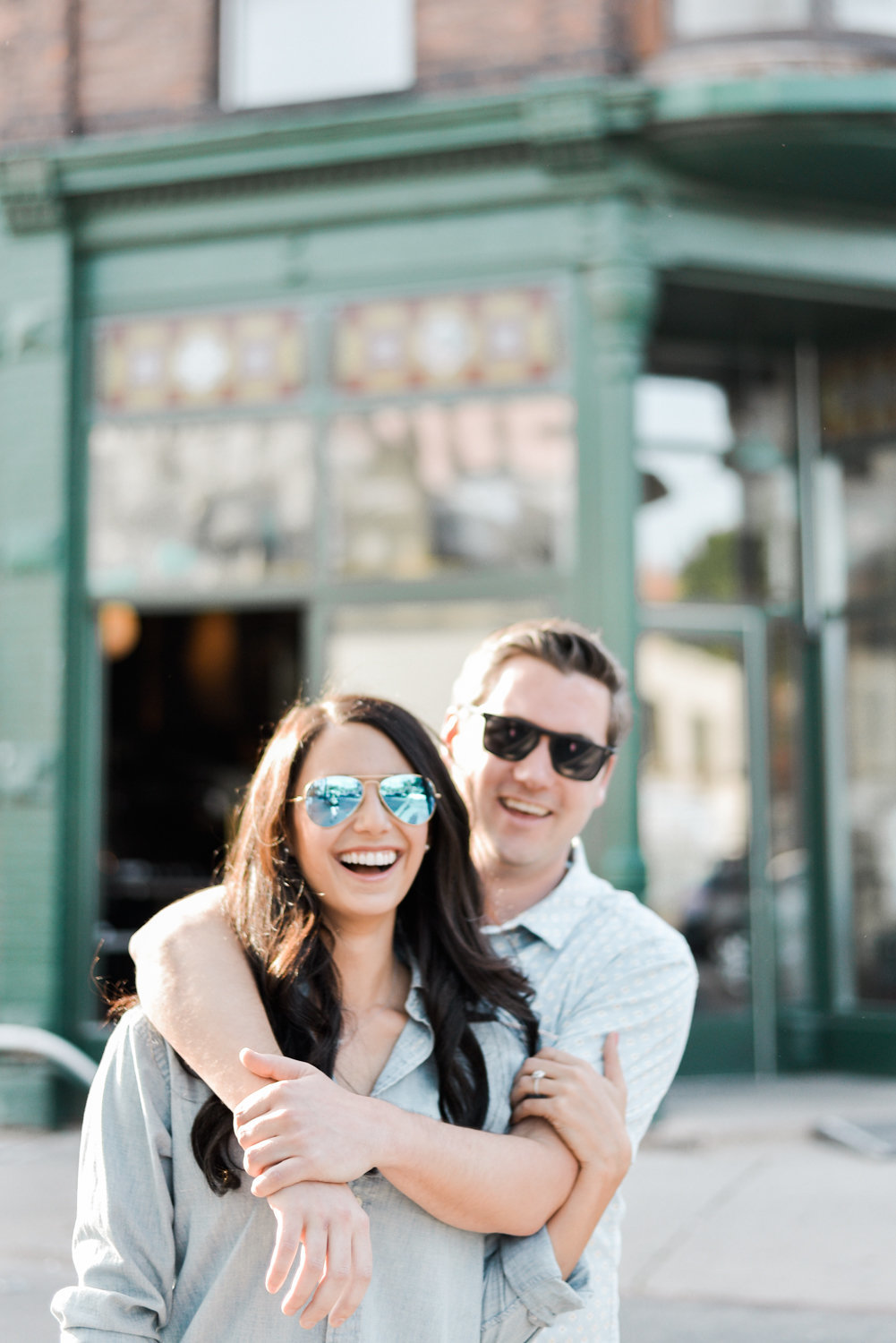 ossington engagement photos