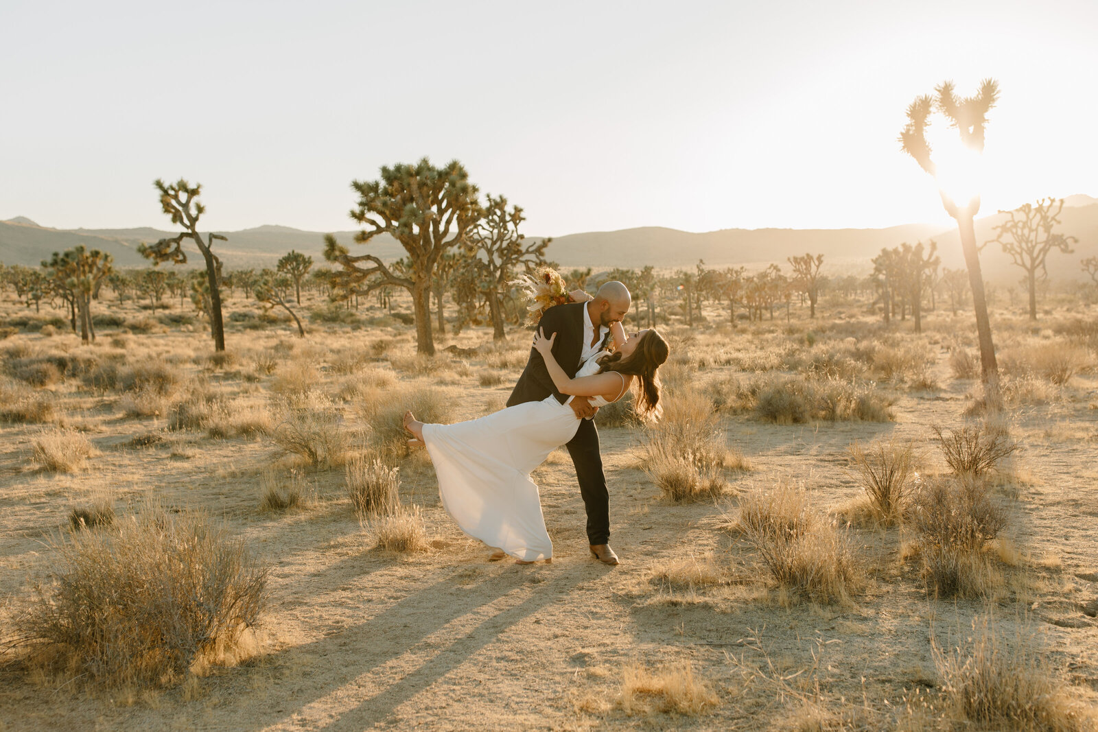 Ashley & Kristian - Joshua Tree National Park Elopement - Tess Laureen Photography @tesslaureen - 124 copy