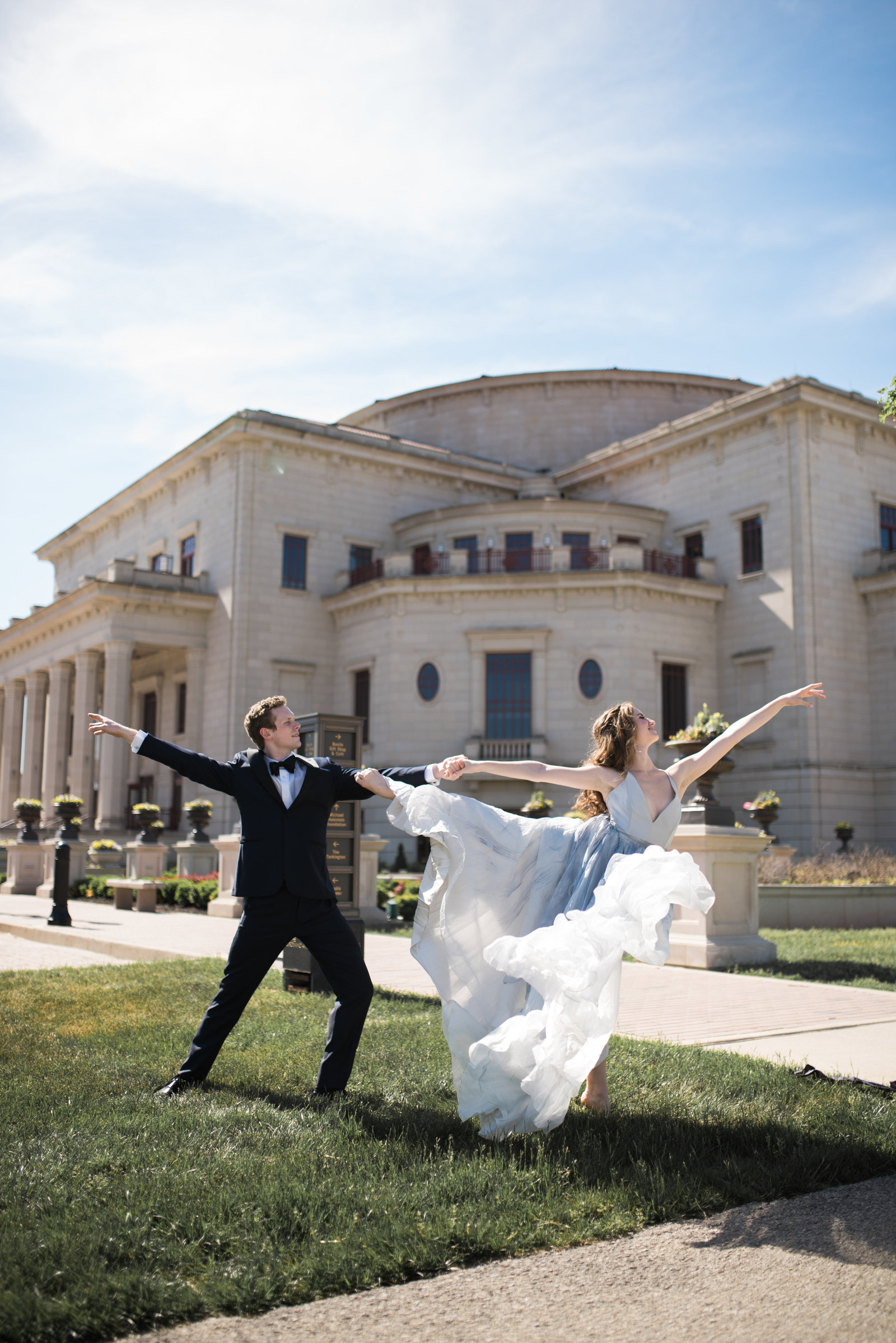 Ballet Inspired Engagement Session at the Palladium in Carmel Indiana (129 of 129)
