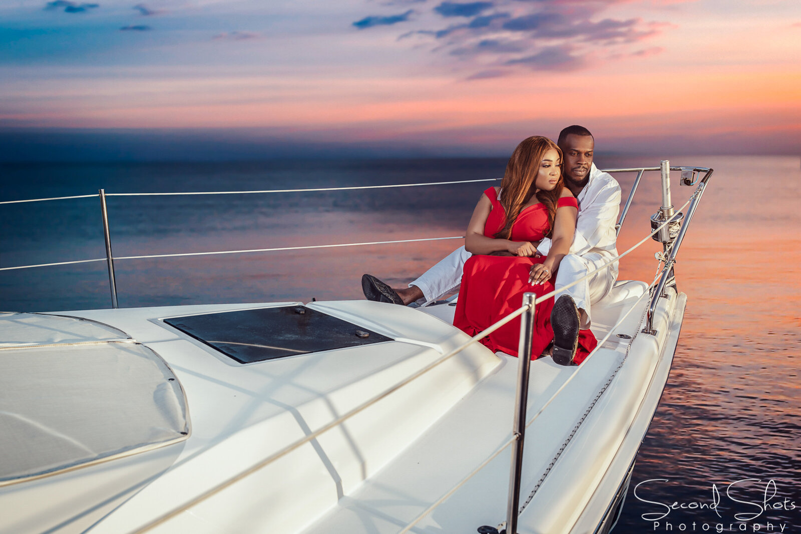 Kemah Yacht Engagement Photos 023