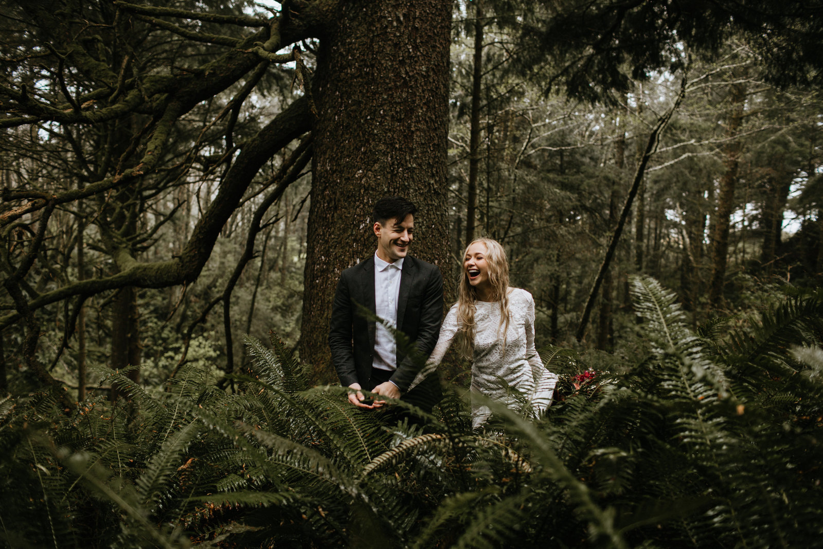 Ecola State Park Elopement on the Oregon Coast