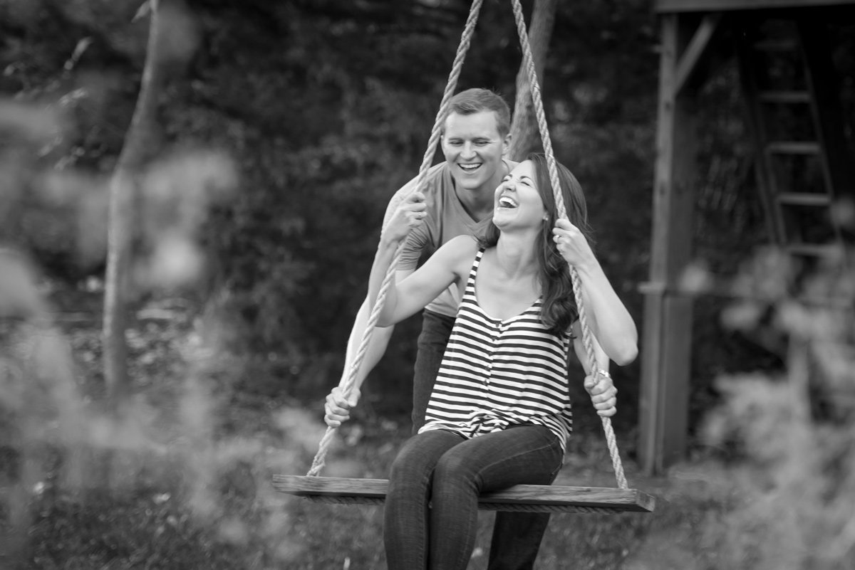 engagement-swing-laughter