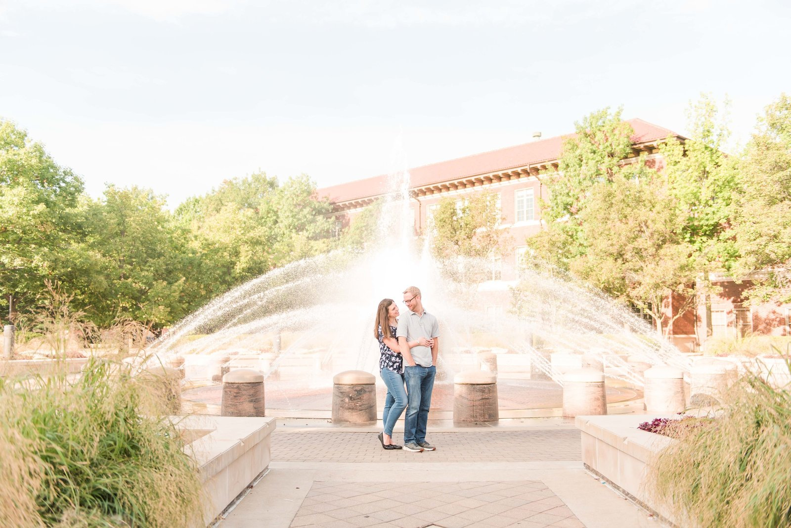 Summer Engagement Session at Purdue University