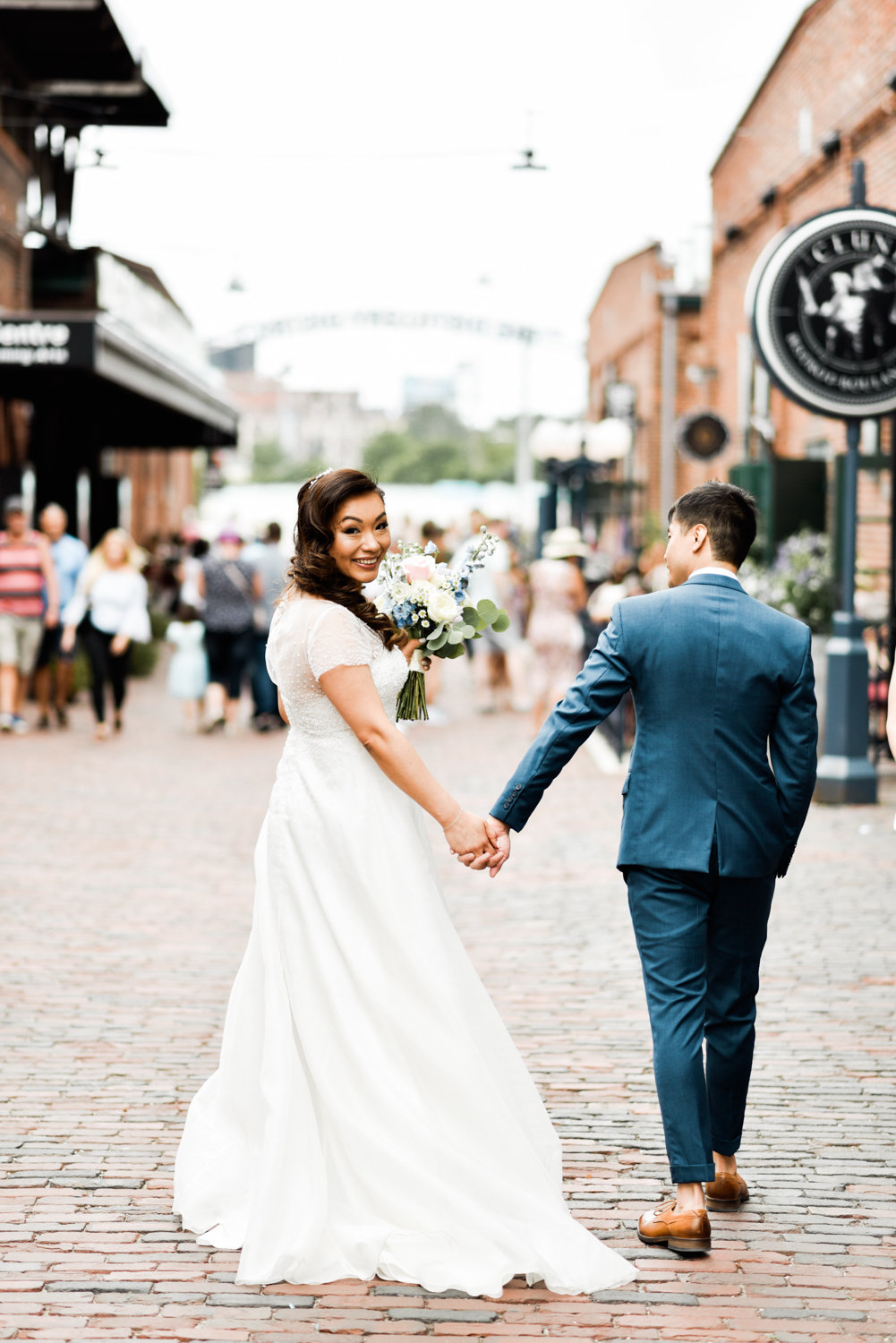 Distillery District Wedding_