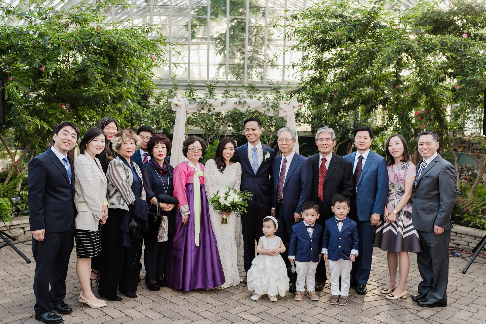 Garfield Park Conservatory Wedding _ Susie and Joe_401