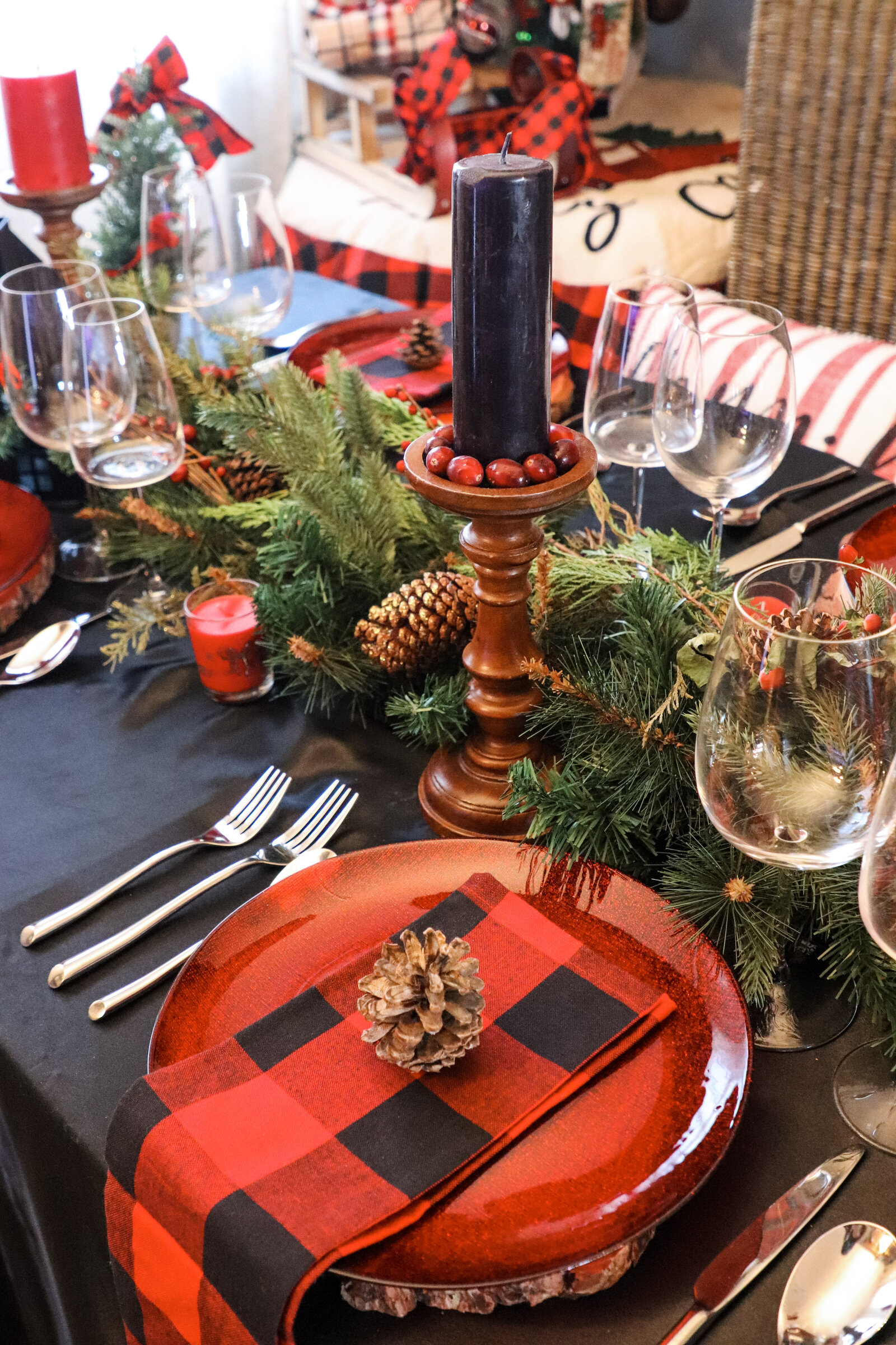 table decor design christmas noel event planner nyc ideas inspiration pearl ivy events