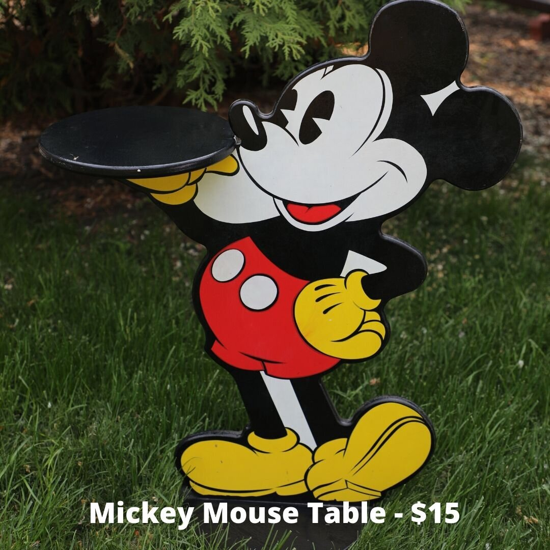 mickey table