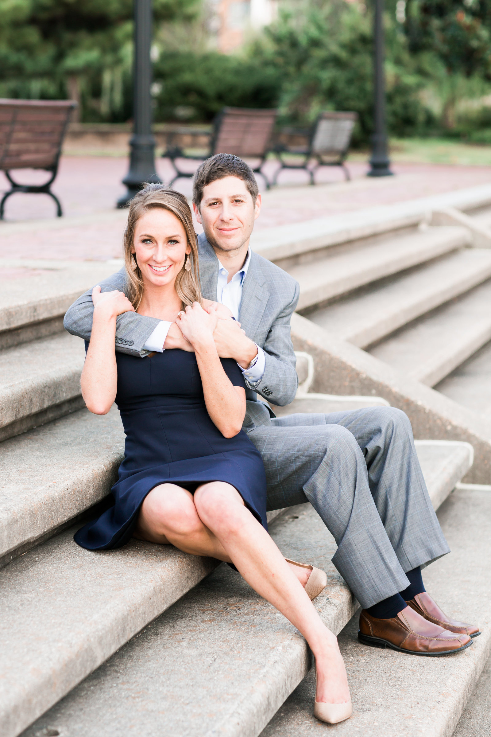 Downtown Norfolk Classic Engagement Session by Elizabeth Friske Photography-6