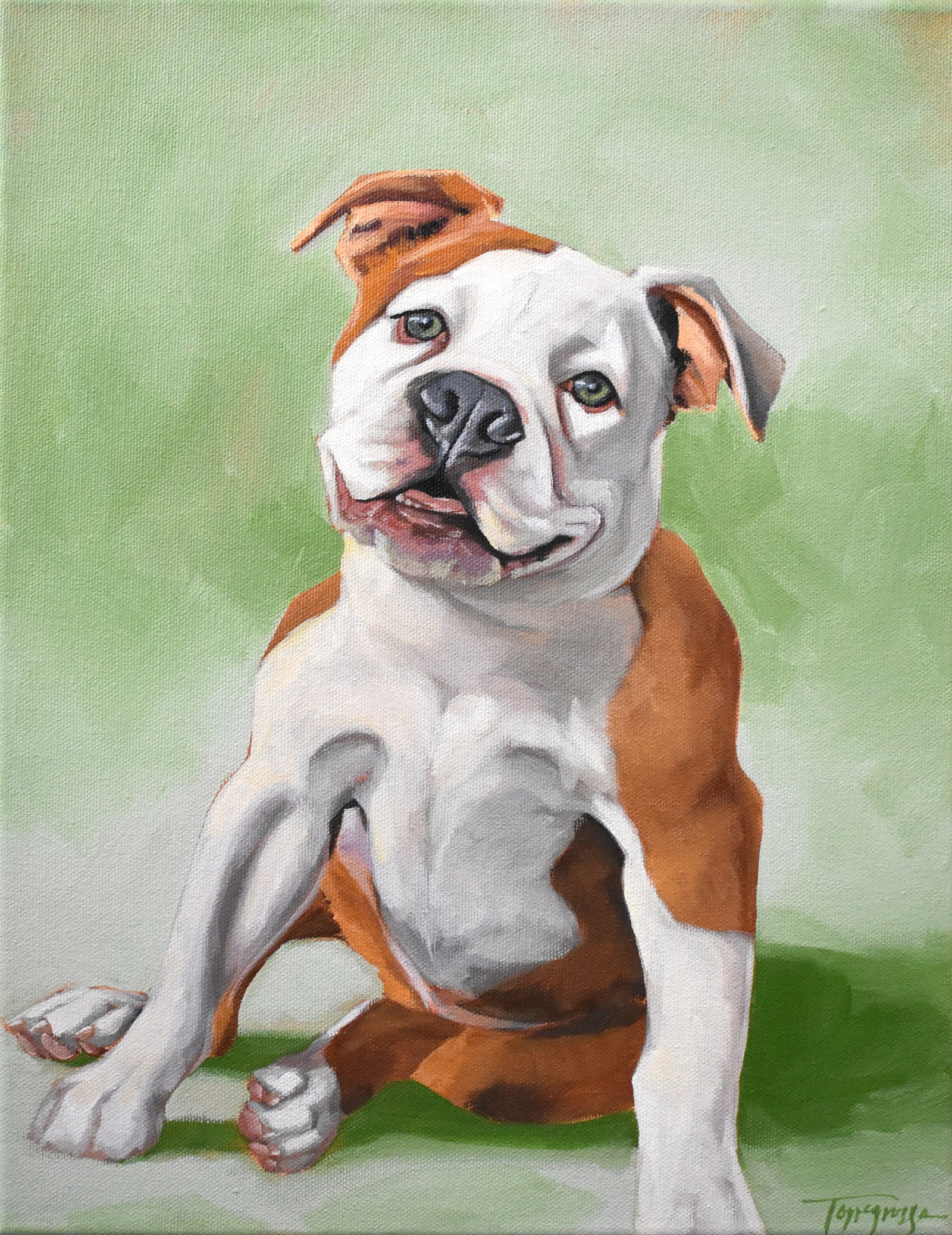 Torregrossa Fine Art Custom Pet Portrait by Stephanie T Gaffney