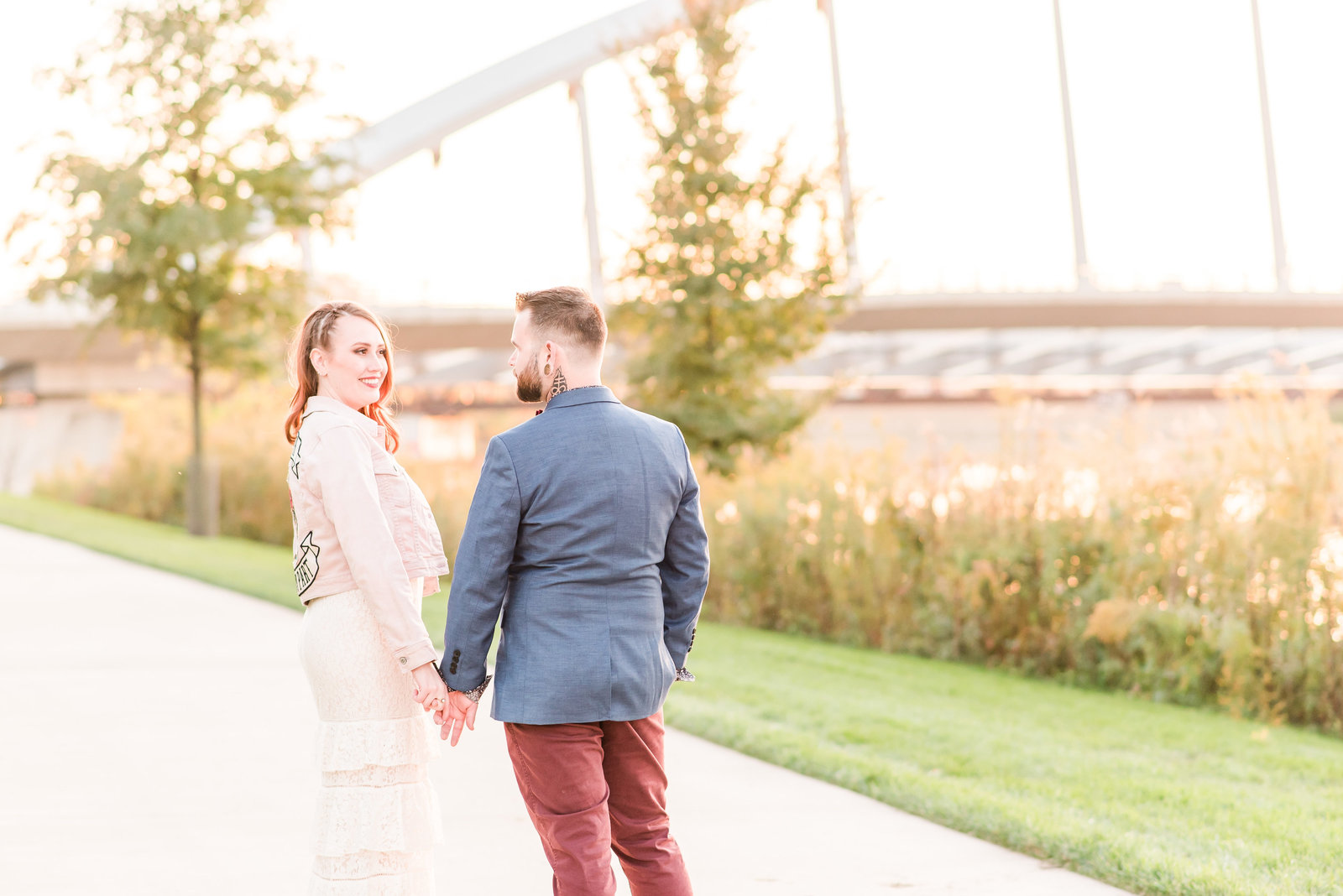 Scioto Mile Engagement Session