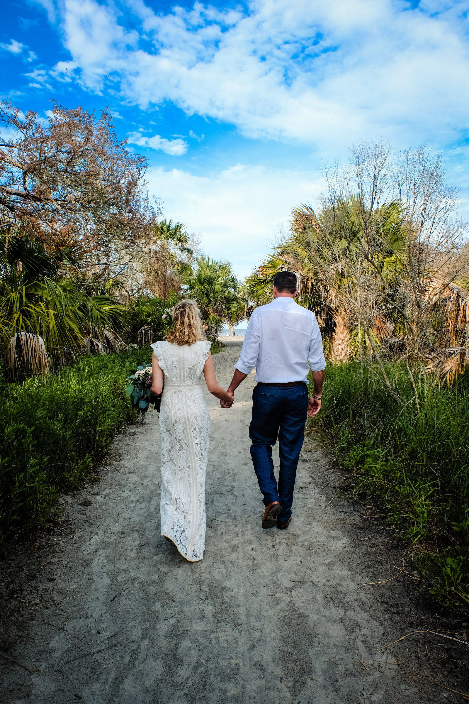 Julie + Lance, Driftwood Beach Wedding, Bobbi Brinkman Photography