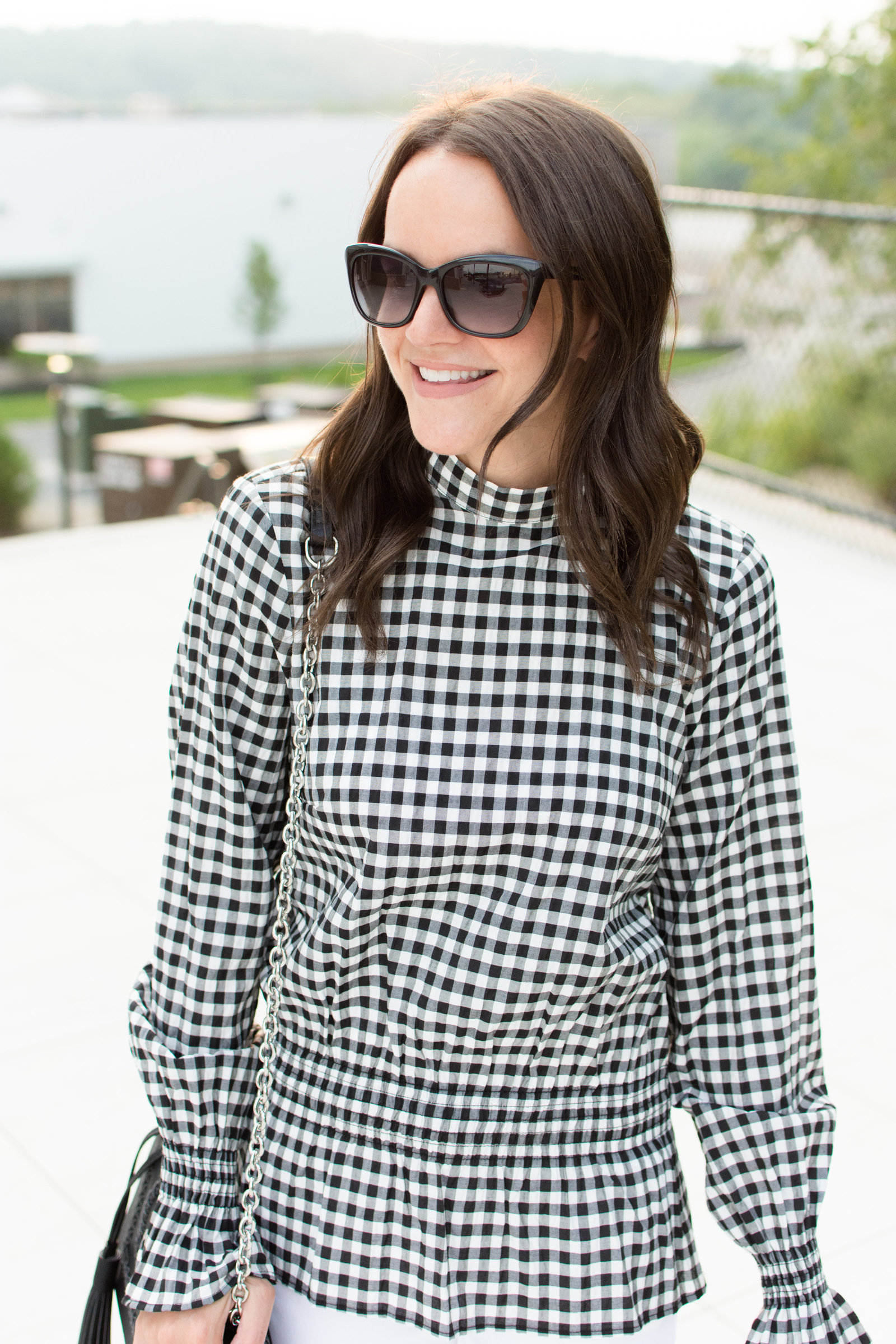 Chic Checkered Top