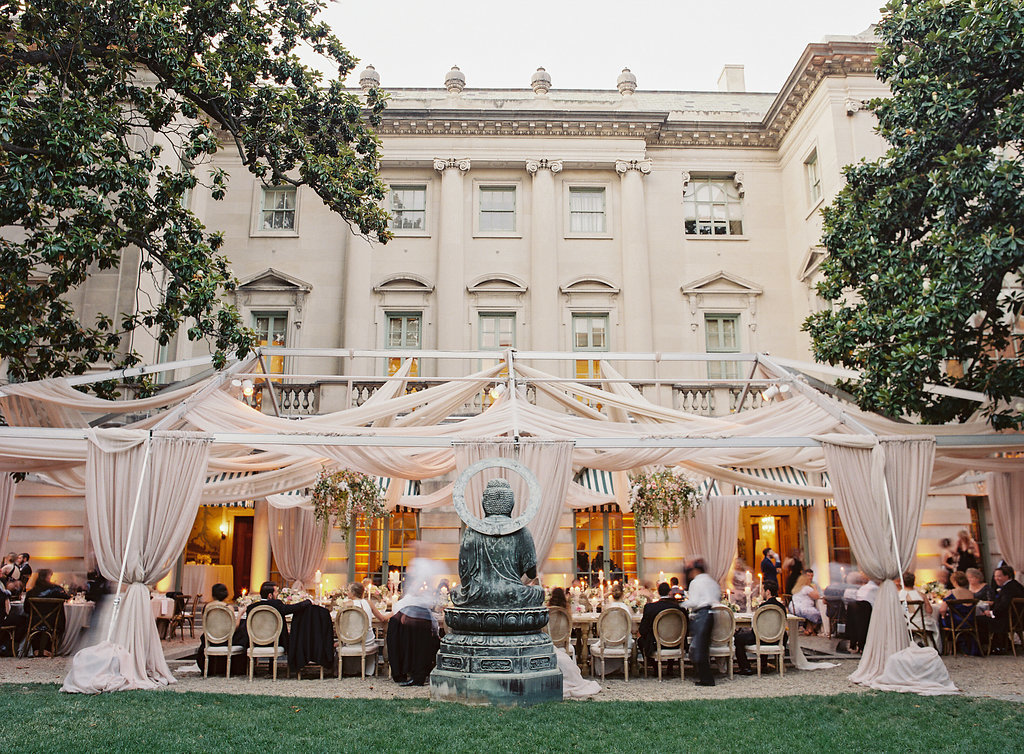 laura gordon, pamela barefoot events dc wedding planner, open air tent