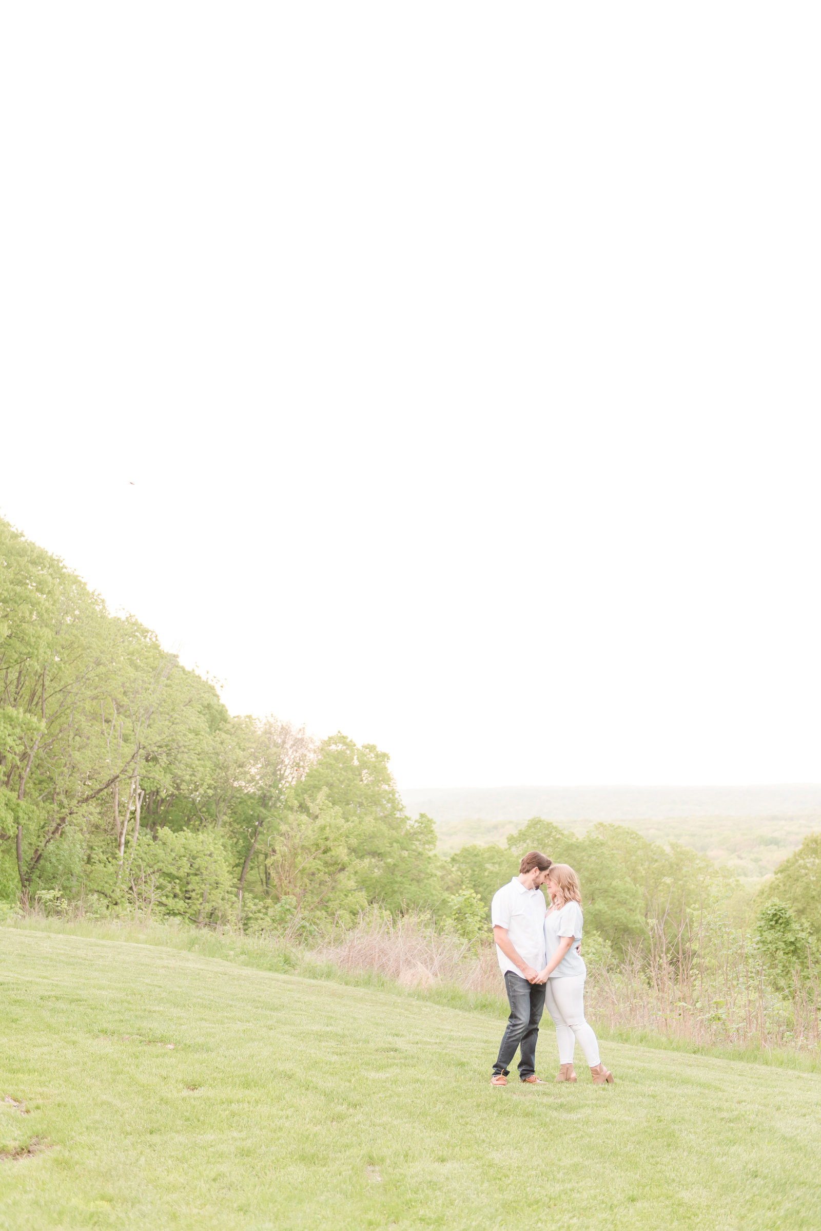 Engagement Photos at Brown County State Park