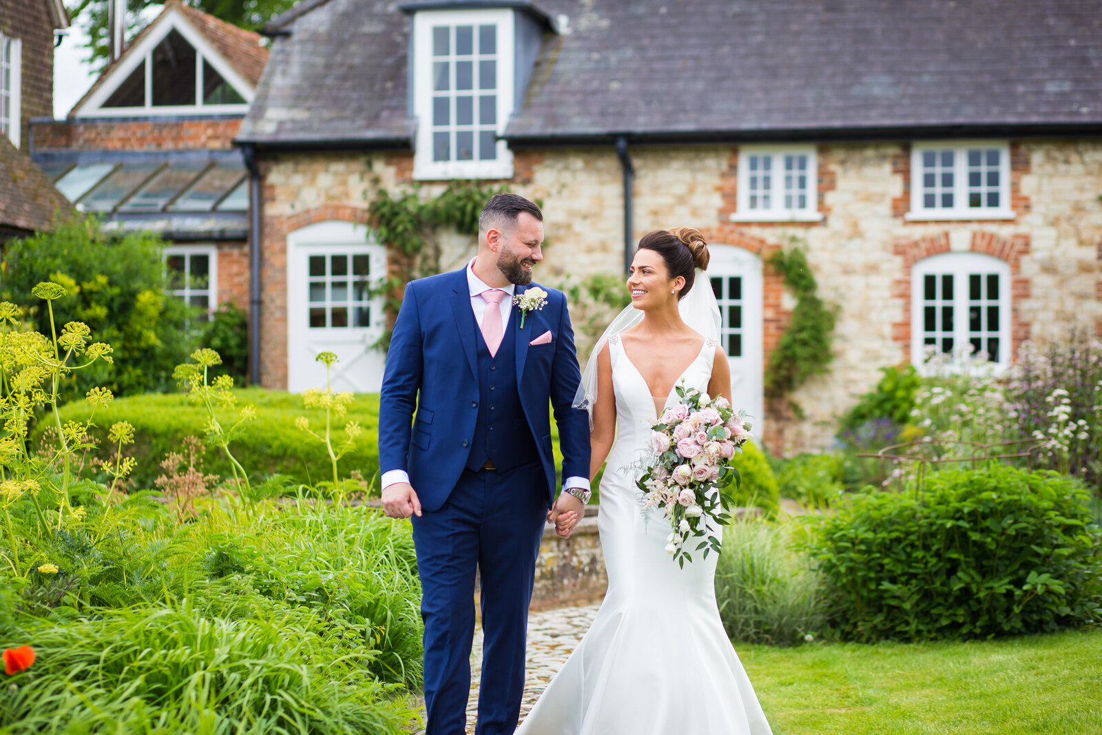 Wedding-Bury-Court-Barn-bride-and-groom-1