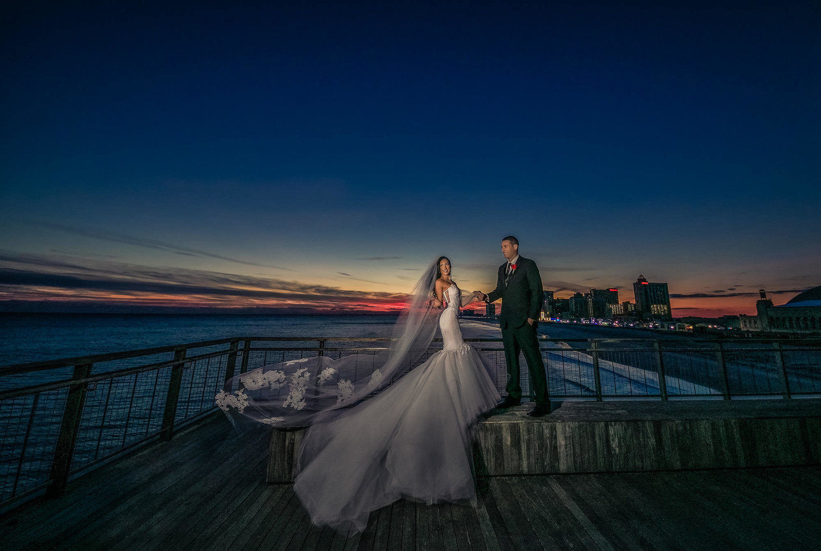NJ Wedding Photographer Michael Romeo Creations One Atlantic