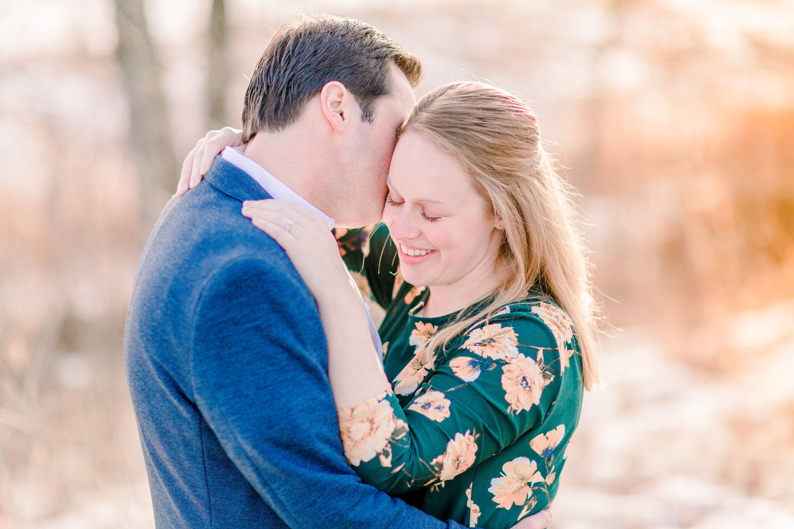Eau claire winter engagement
