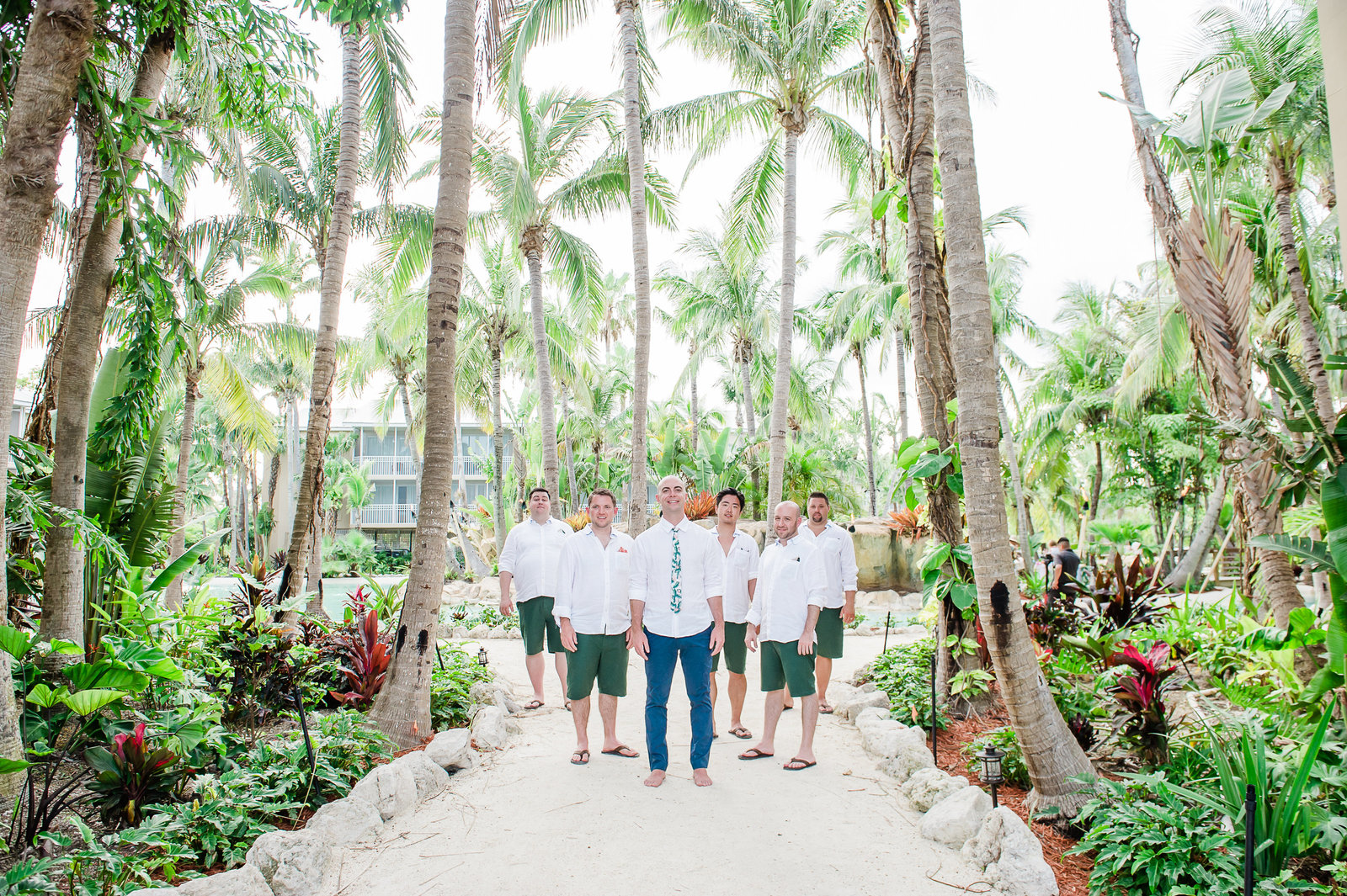 Groomsmen at Cheeca Lodge