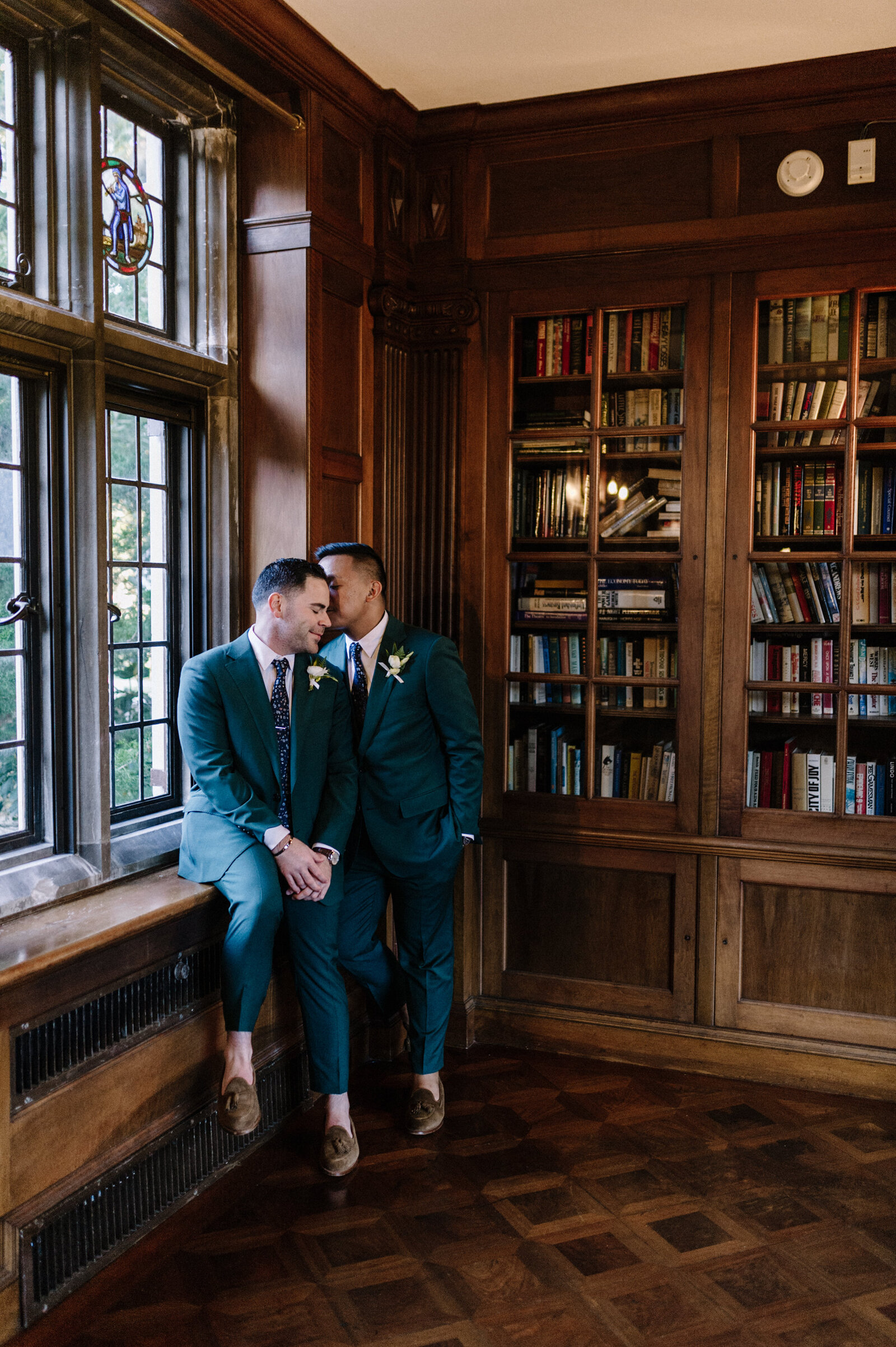 Gallaher Mansion Same Sex Wedding_77