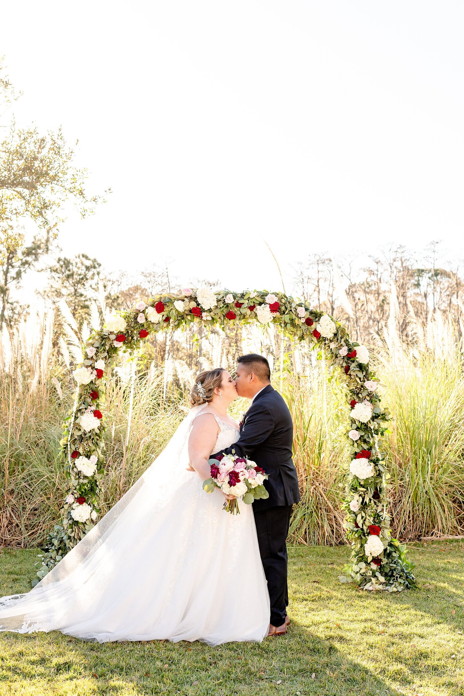 Wedding Floral Arch | Four Seasons Wedding | Chynna Pacheco Photography